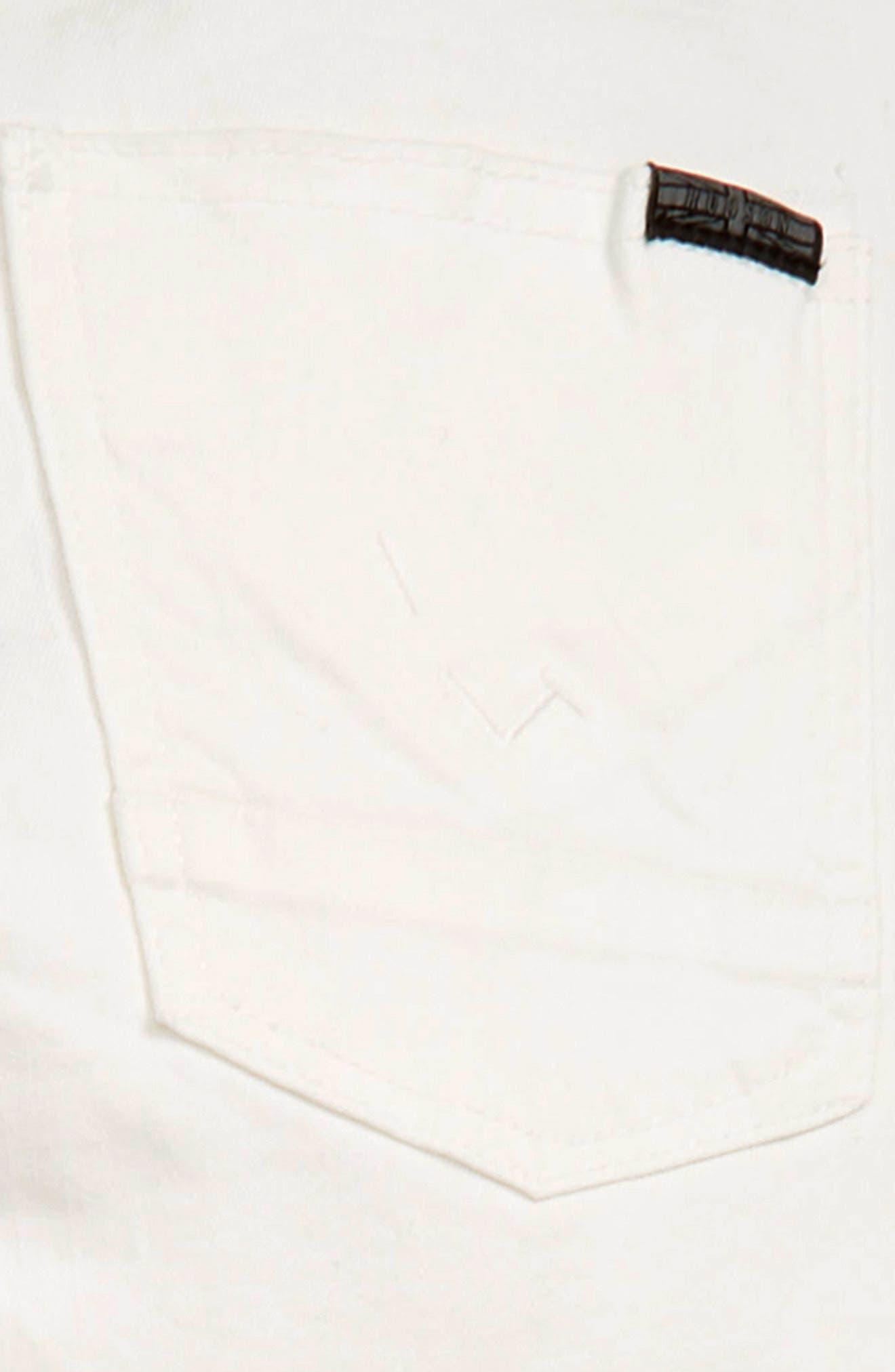 HUDSON KIDS, Straight Leg Jeans, Alternate thumbnail 3, color, MOONSHINE