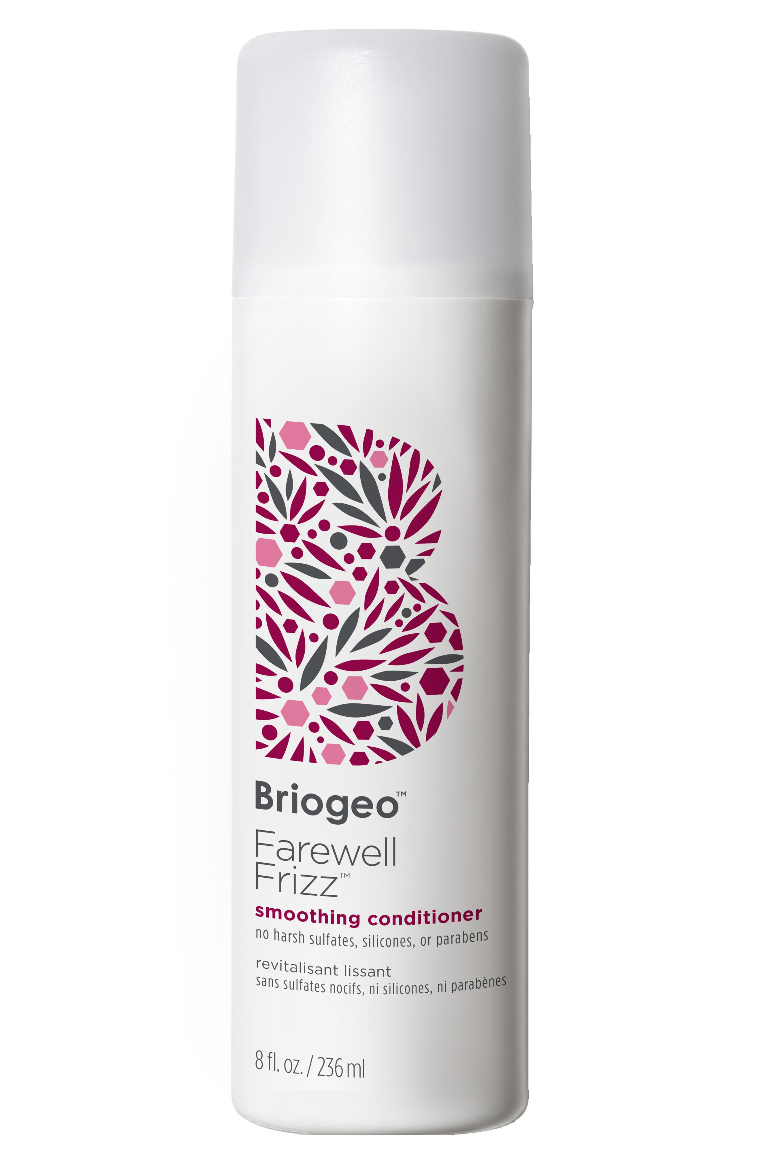 BRIOGEO, Farewell Frizz Smoothing Conditioner, Main thumbnail 1, color, NO COLOR