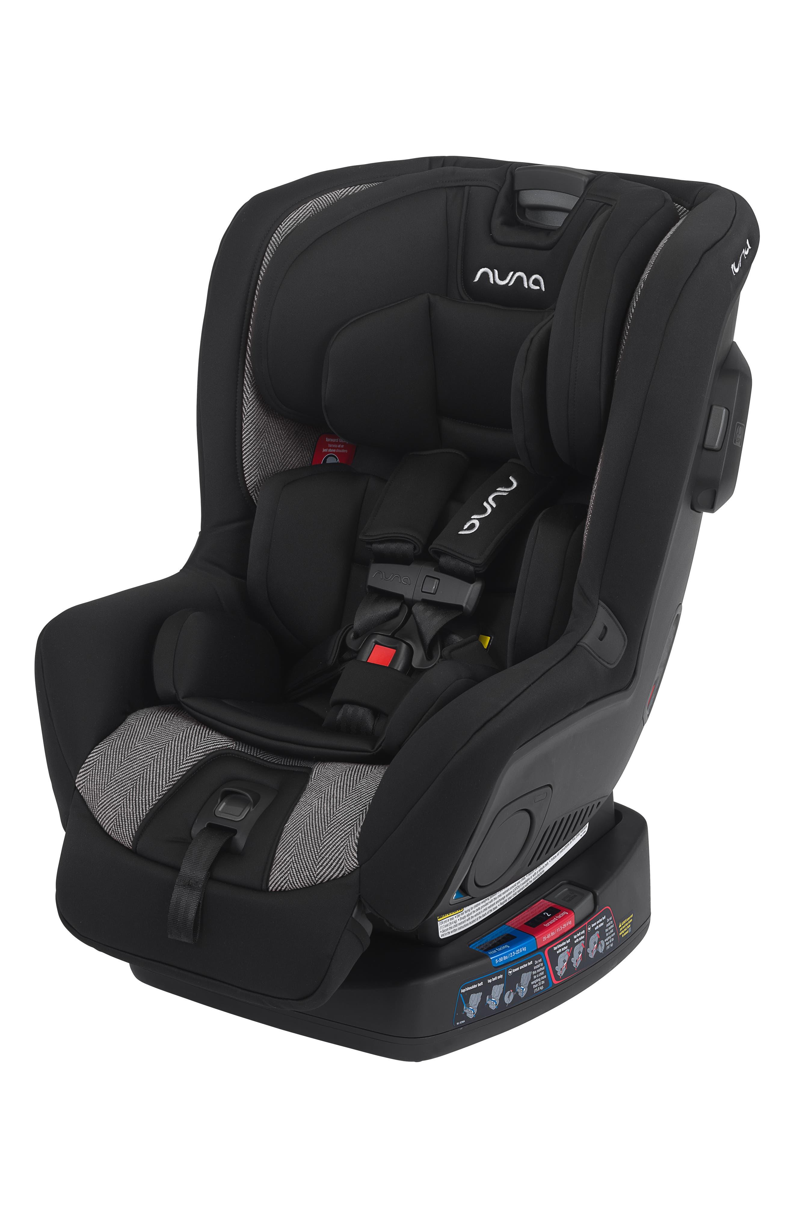 NUNA, RAVA<sup>™</sup> Convertible Car Seat, Alternate thumbnail 4, color, VERONA CAVIAR