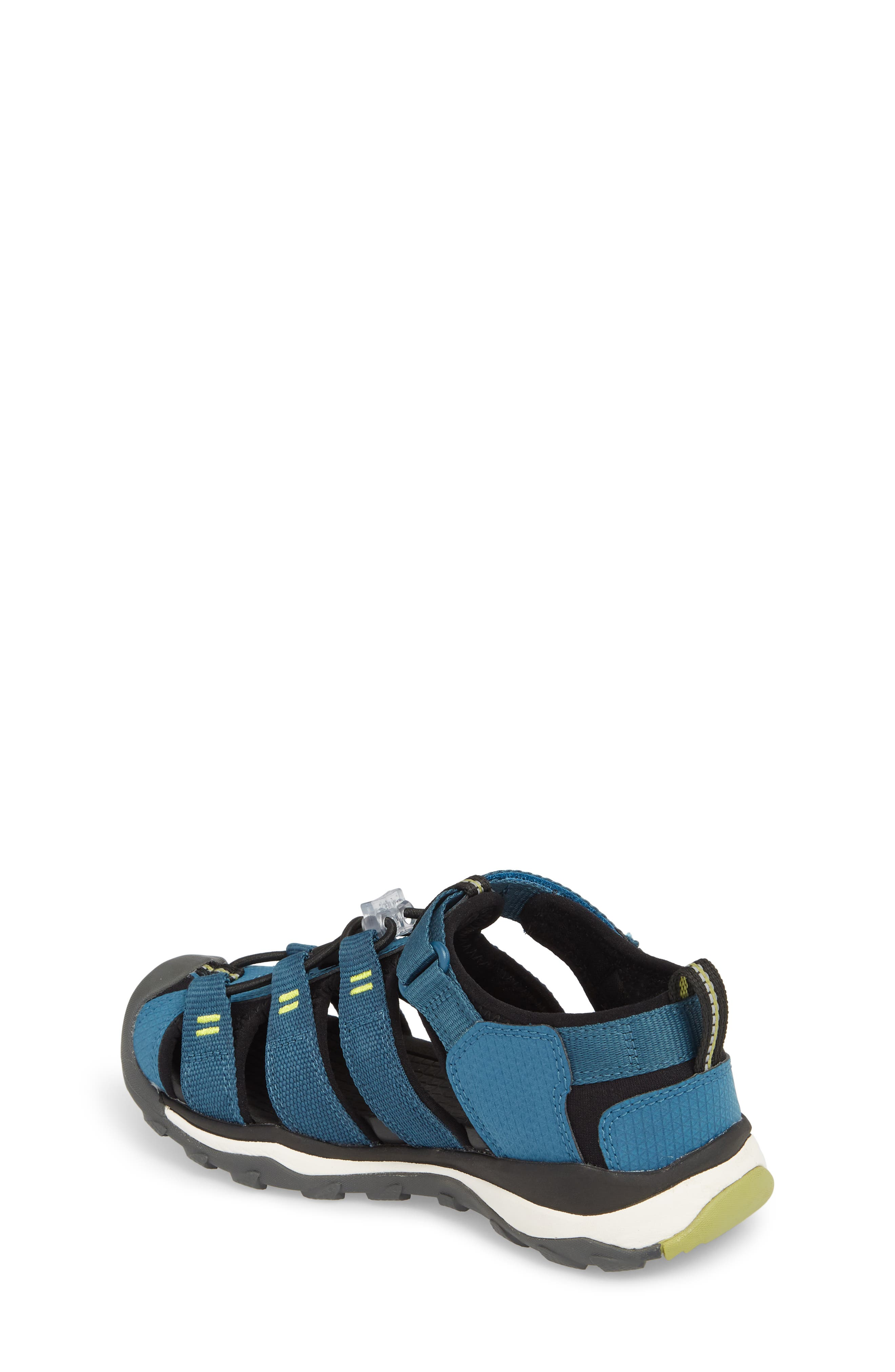 KEEN, Newport Neo H2 Water Friendly Sandal, Alternate thumbnail 2, color, LEGION BLUE/ MOSS
