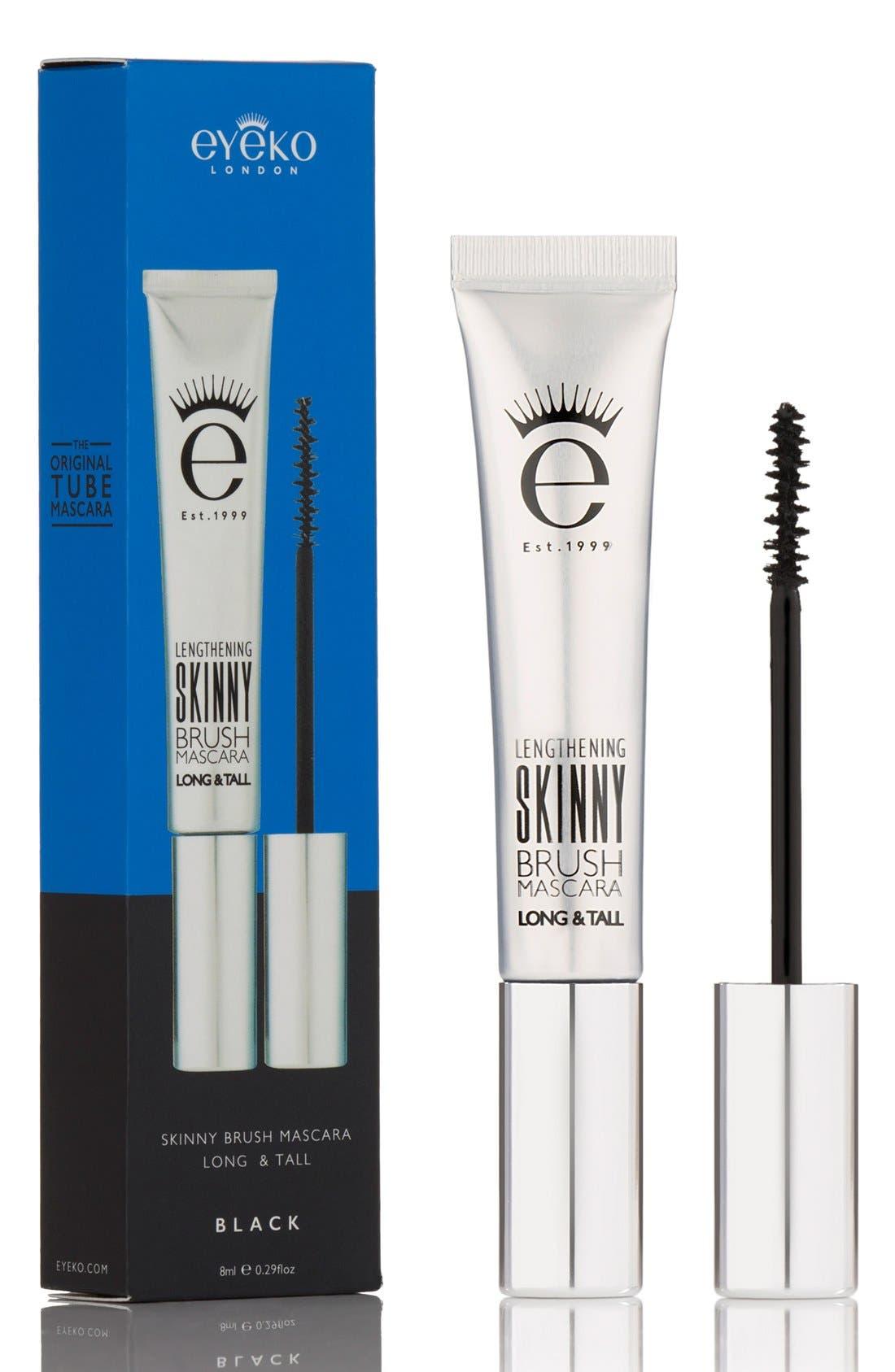 EYEKO, Skinny Brush Mascara, Alternate thumbnail 4, color, BLACK