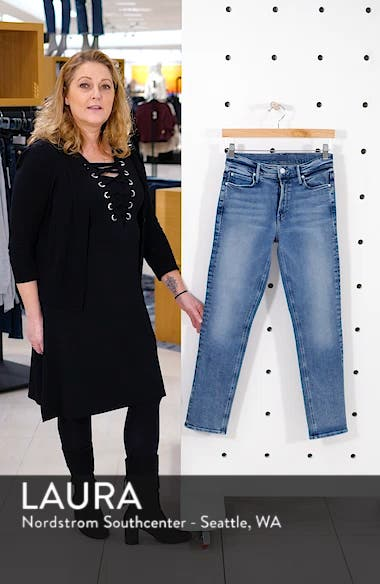 Dazzler High Waist Ankle Straight Leg Jeans, sales video thumbnail