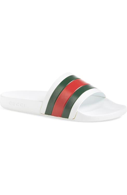 7a3791653e4f Gucci Pursuit Rubber Slide Sandal (Men)