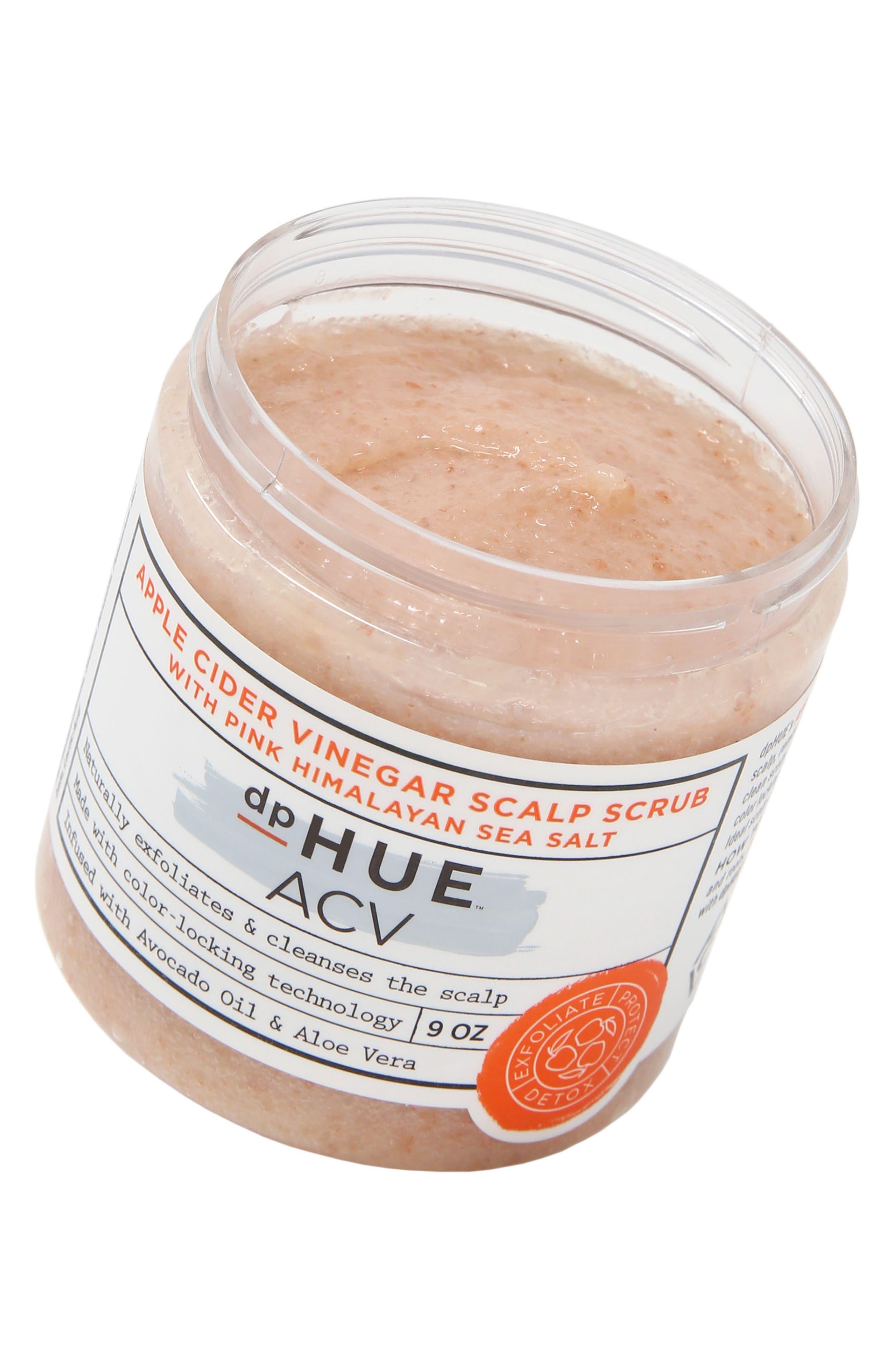DPHUE, Apple Cider Vinegar Scalp Scrub with Pink Himalayan Salt, Alternate thumbnail 2, color, 000