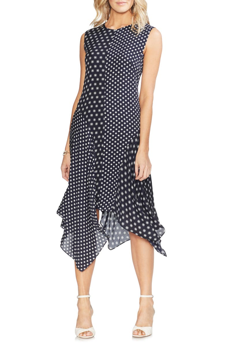 Vince Camuto Dresses GEO ASYMMETRICAL DRESS
