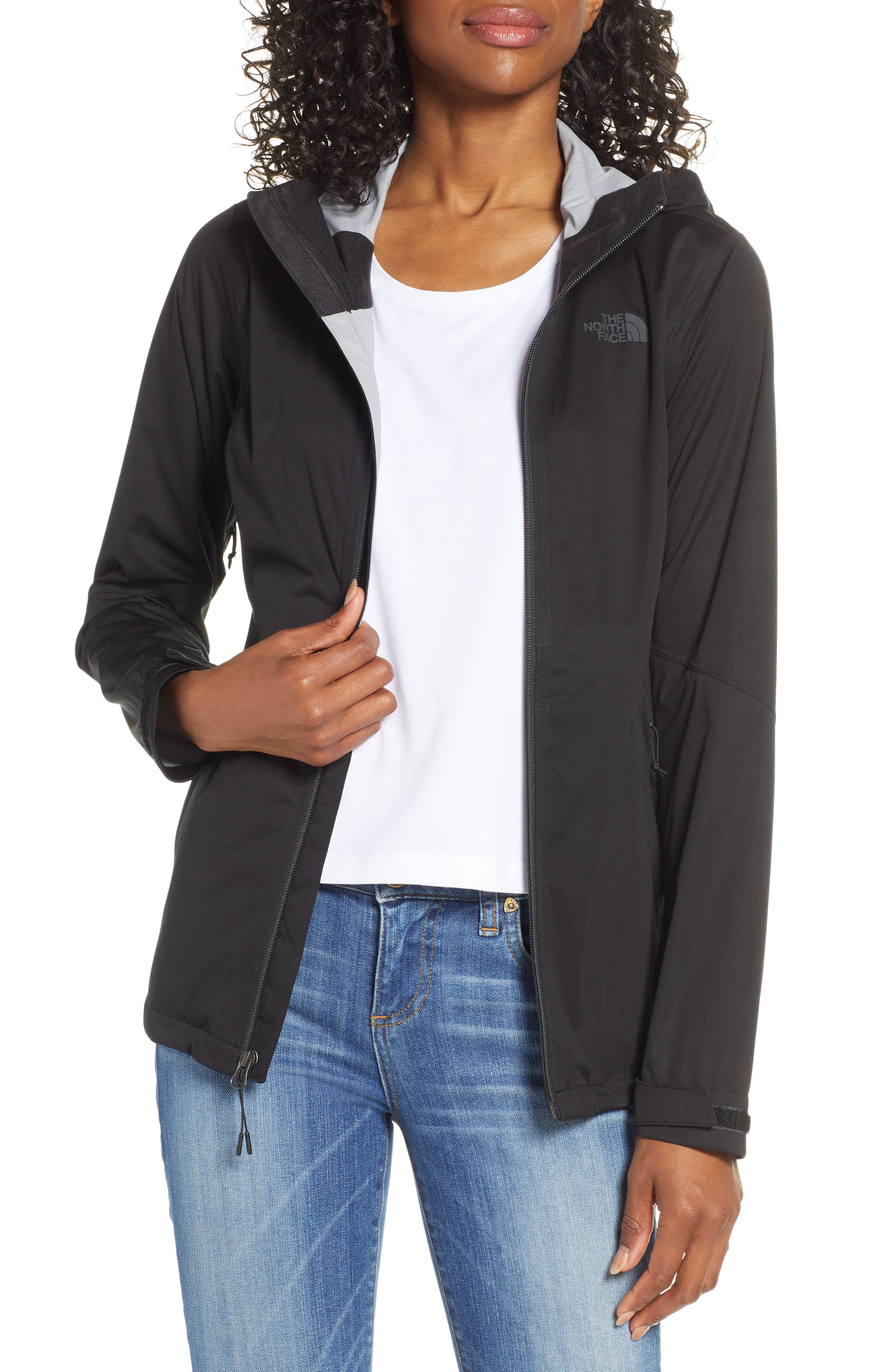 THE NORTH FACE Allproof Stretch Jacket, Main, color, TNF BLACK