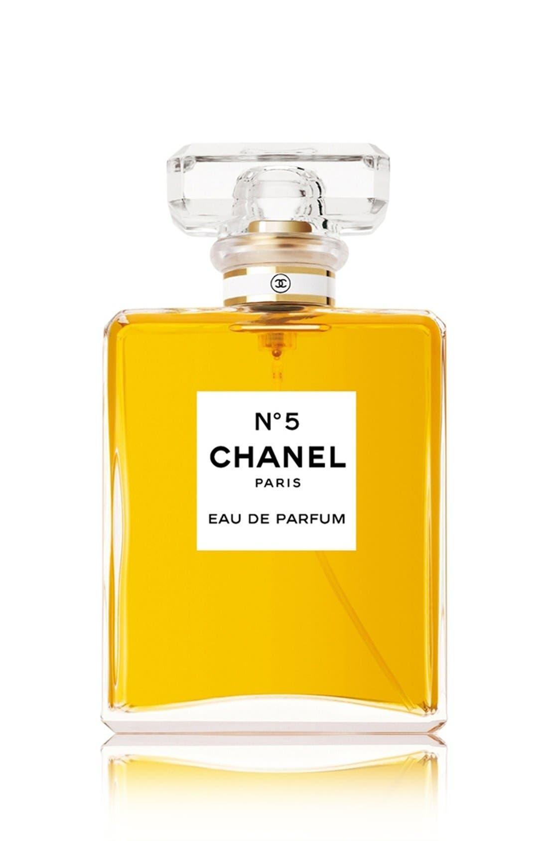 CHANEL, N°5<br />Eau De Parfum Spray, Main thumbnail 1, color, NO COLOR