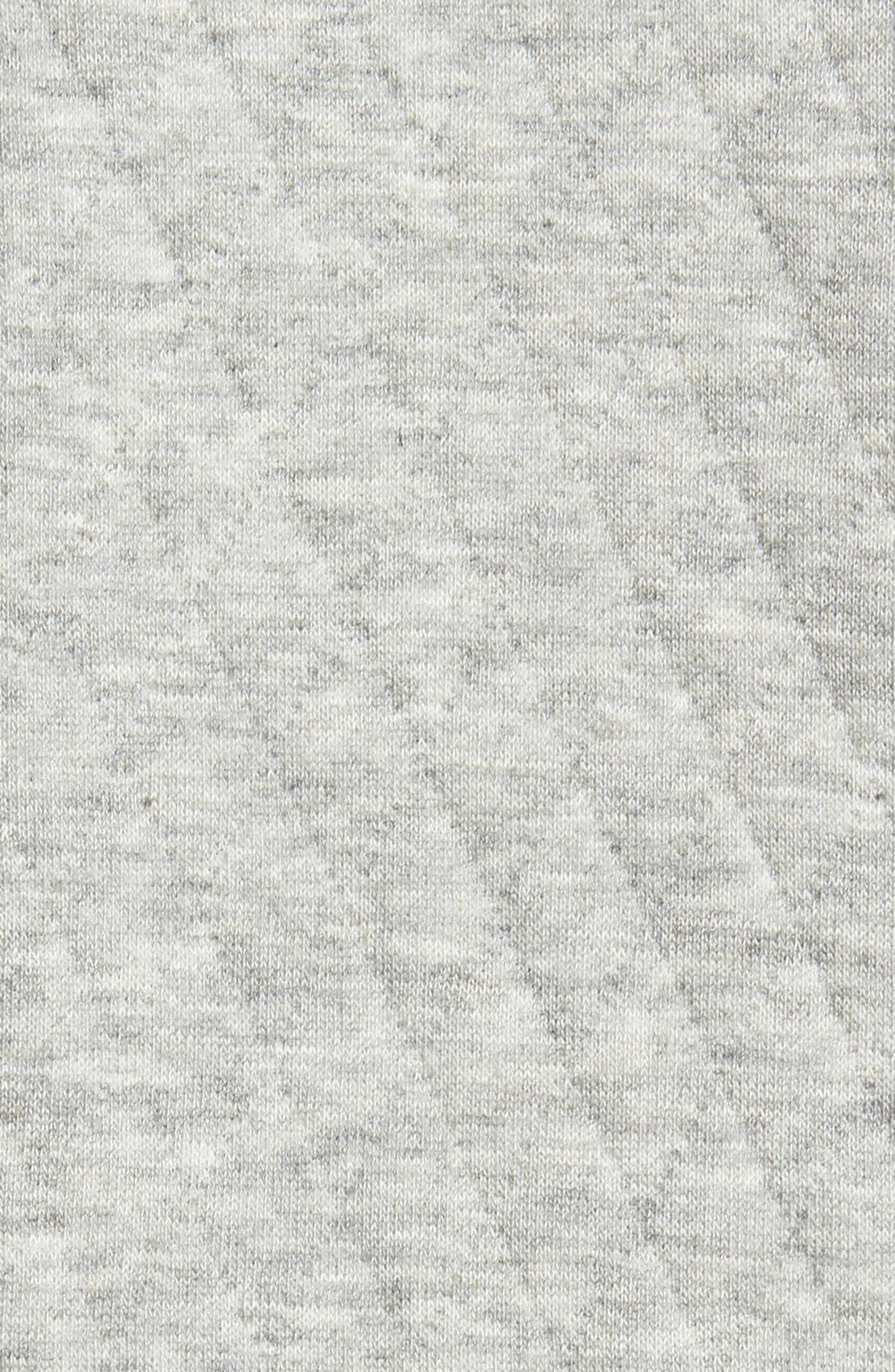 RODD & GUNN, Skipjack Pass Quilted Fleece Jacket, Alternate thumbnail 5, color, ASH