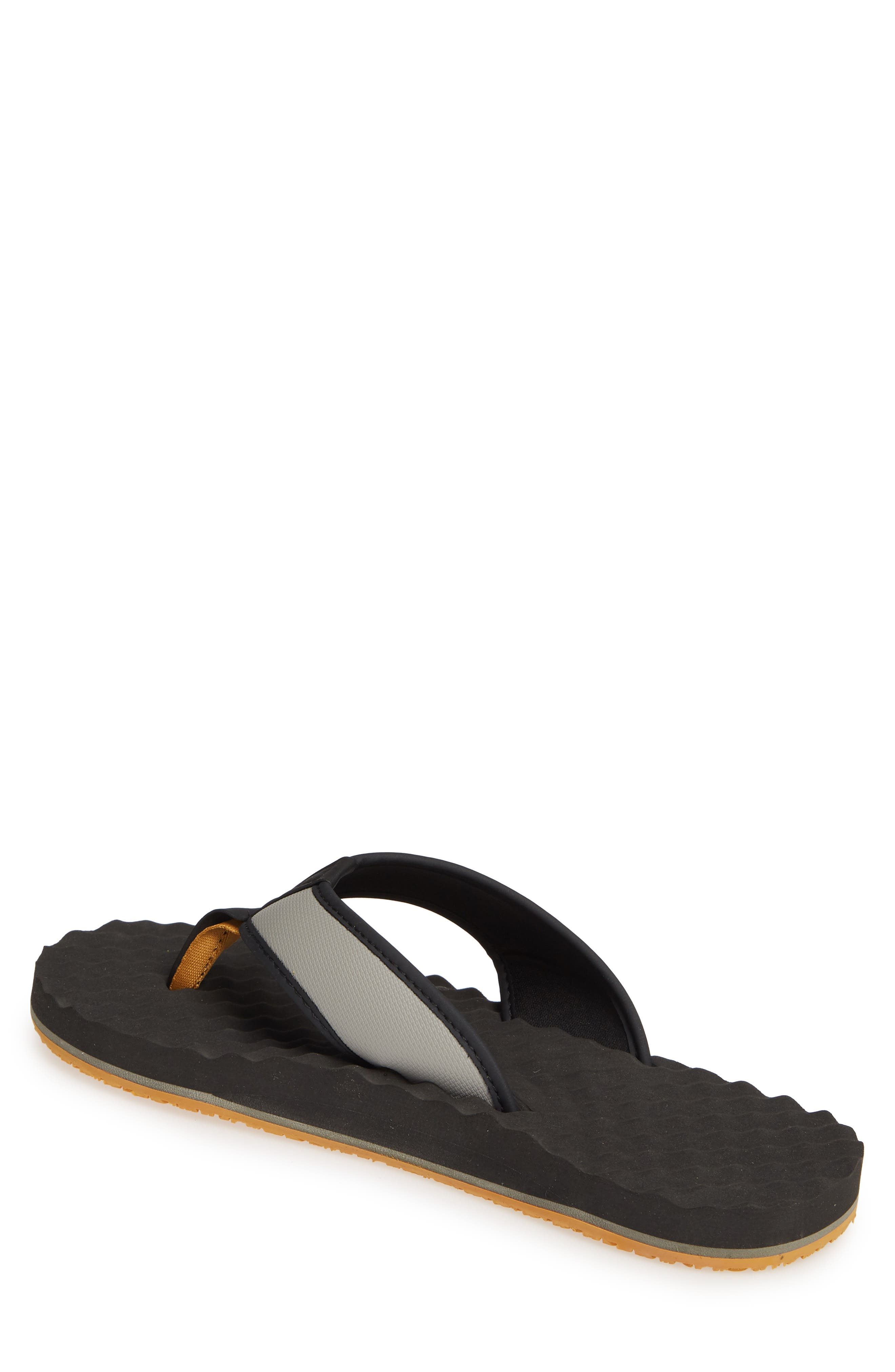 THE NORTH FACE, 'Base Camp' Water Friendly Flip Flop, Alternate thumbnail 2, color, 021