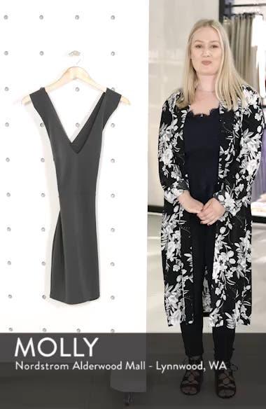 Crossback Body-Con Dress, sales video thumbnail