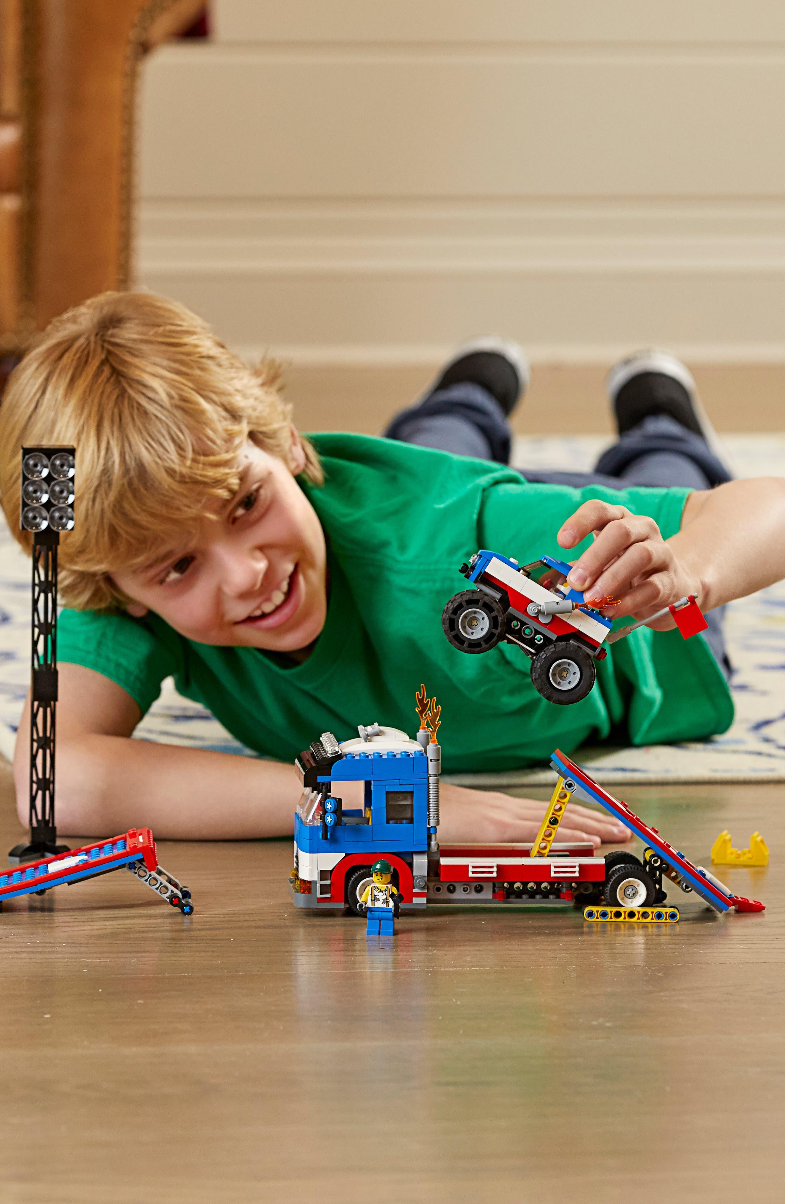 LEGO<SUP>®</SUP>, Creator Mobile Stunt Show - 31085, Alternate thumbnail 7, color, 960