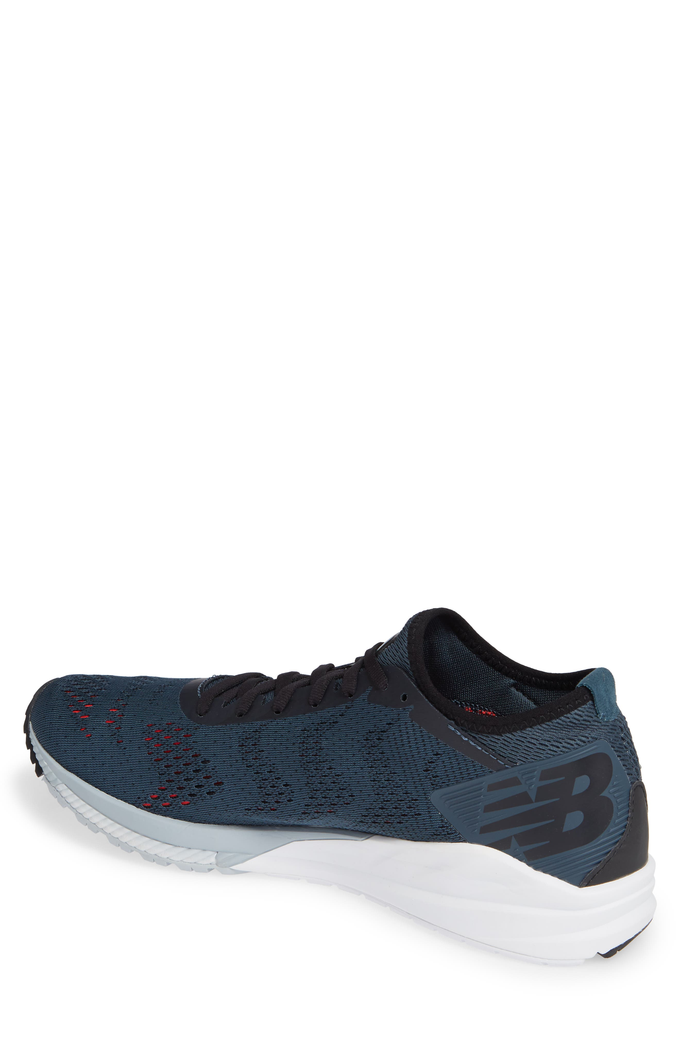 NEW BALANCE, FuelCell Impulse Running Shoe, Alternate thumbnail 2, color, PETROL