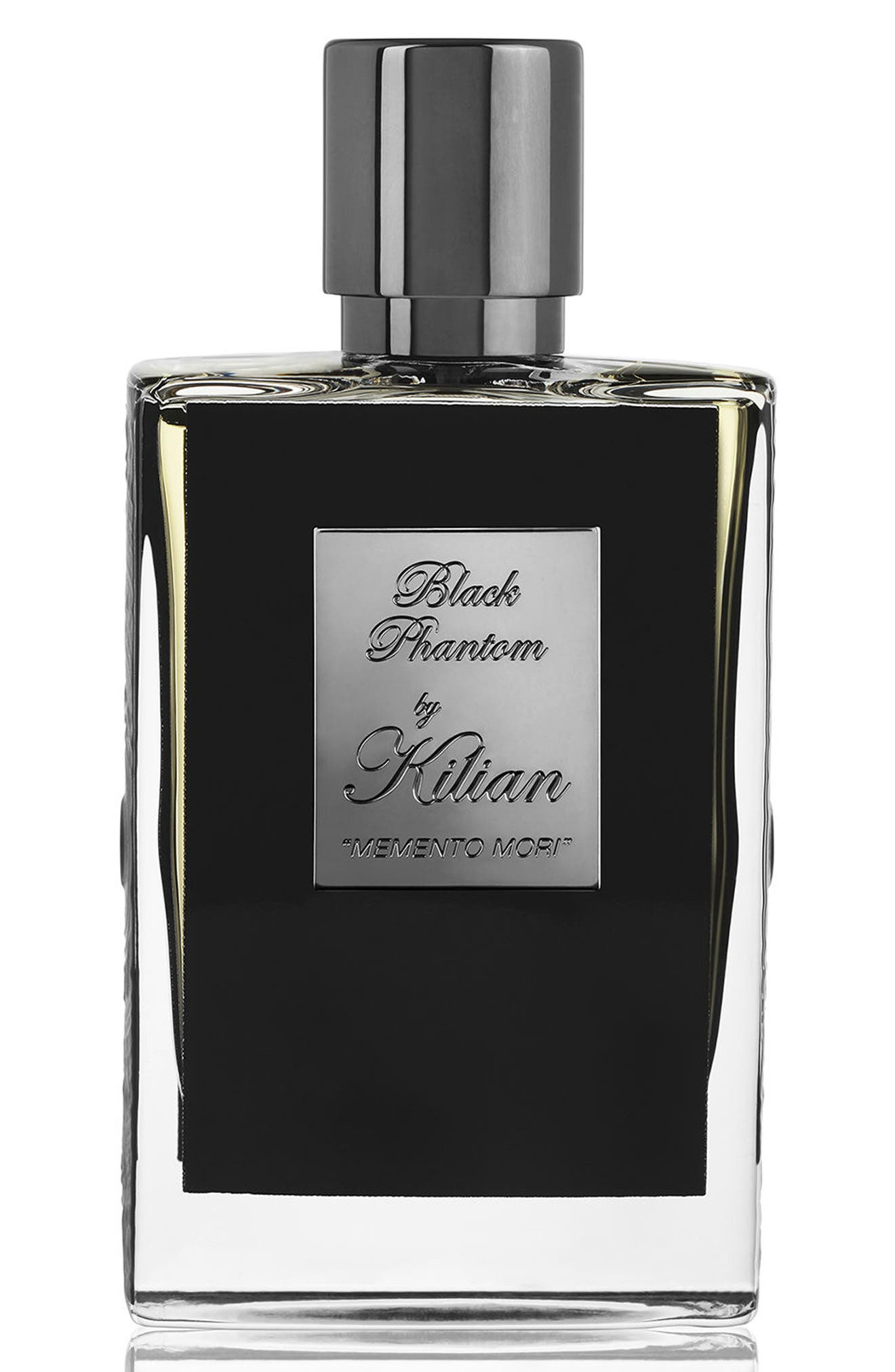 KILIAN, Black Phantom Memento Mori Eau de Parfum Refillable Spray, Main thumbnail 1, color, NO COLOR