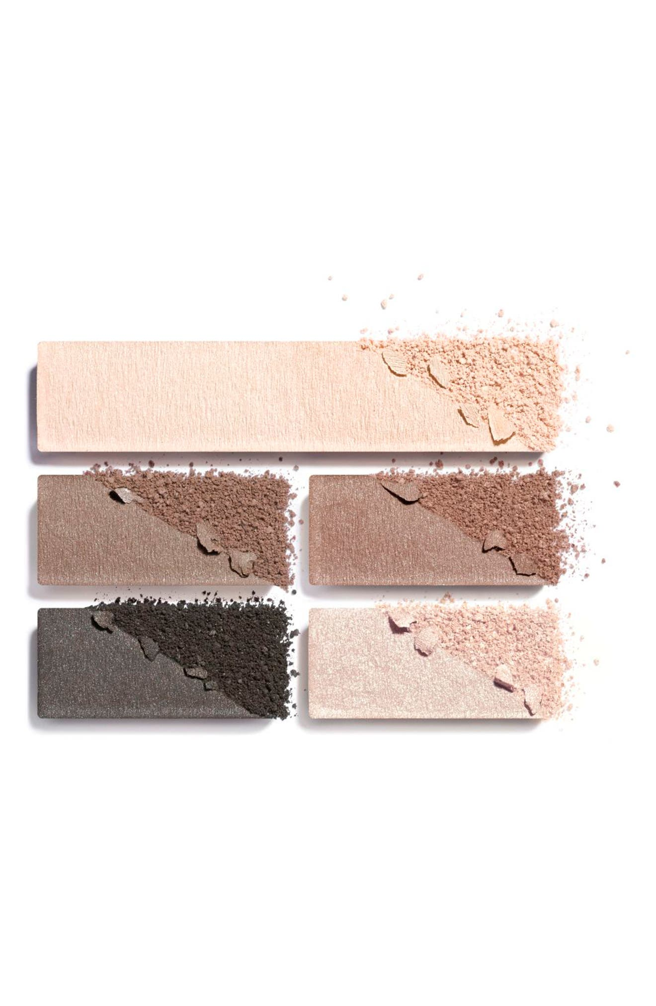 CHANEL, LES BEIGES HEALTHY GLOW Natural Eyeshadow Palette, Alternate thumbnail 2, color, MEDIUM