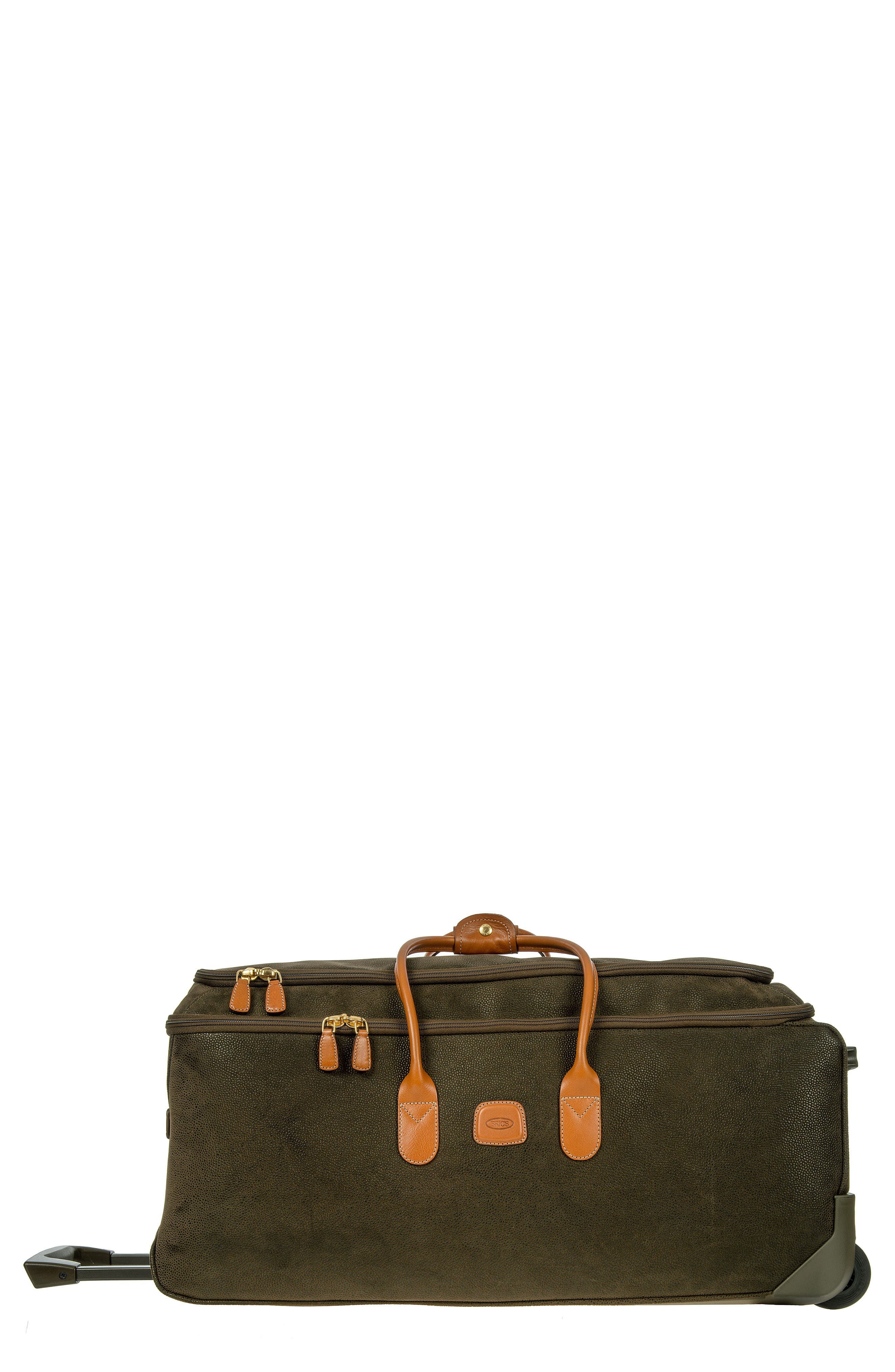 BRIC'S, Brics Life Collection 28-Inch Rolling Duffle Bag, Alternate thumbnail 2, color, OLIVE