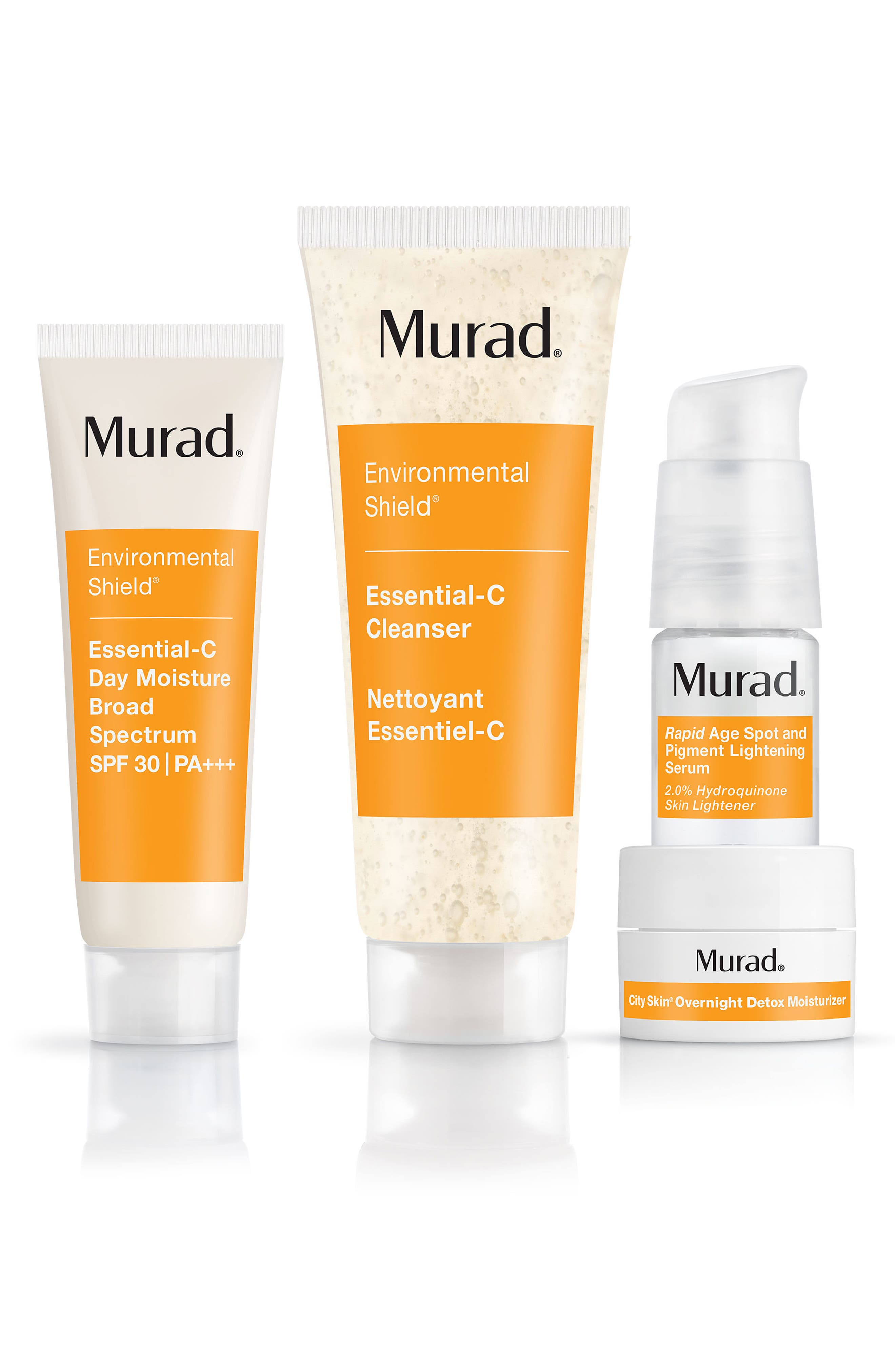 MURAD<SUP>®</SUP> Bright Beginning 30 Day Discovery Kit, Main, color, NO COLOR