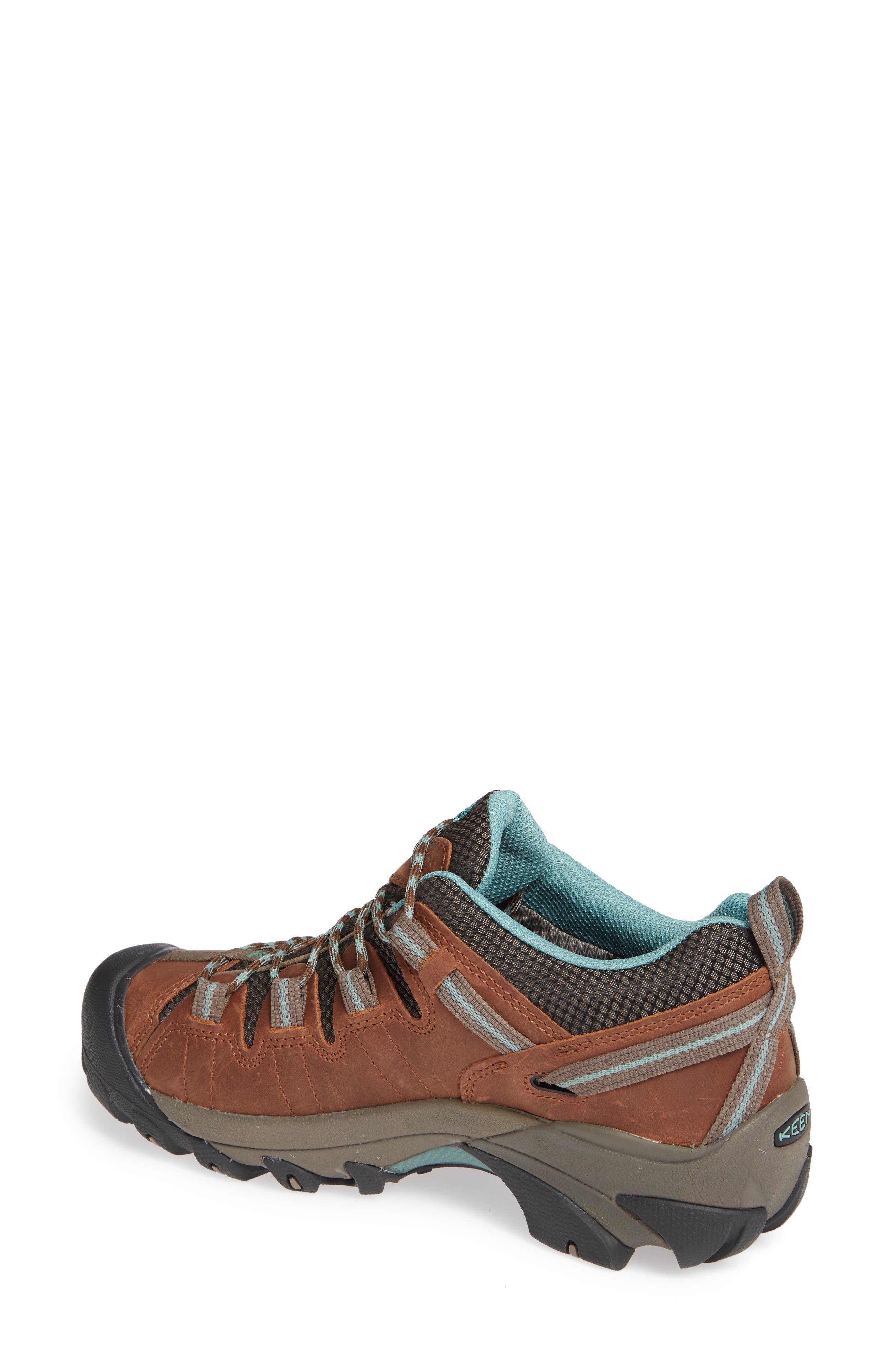 KEEN, 'Targhee II' Walking Shoe, Alternate thumbnail 2, color, DARK EARTH/ WASABI NUBUCK