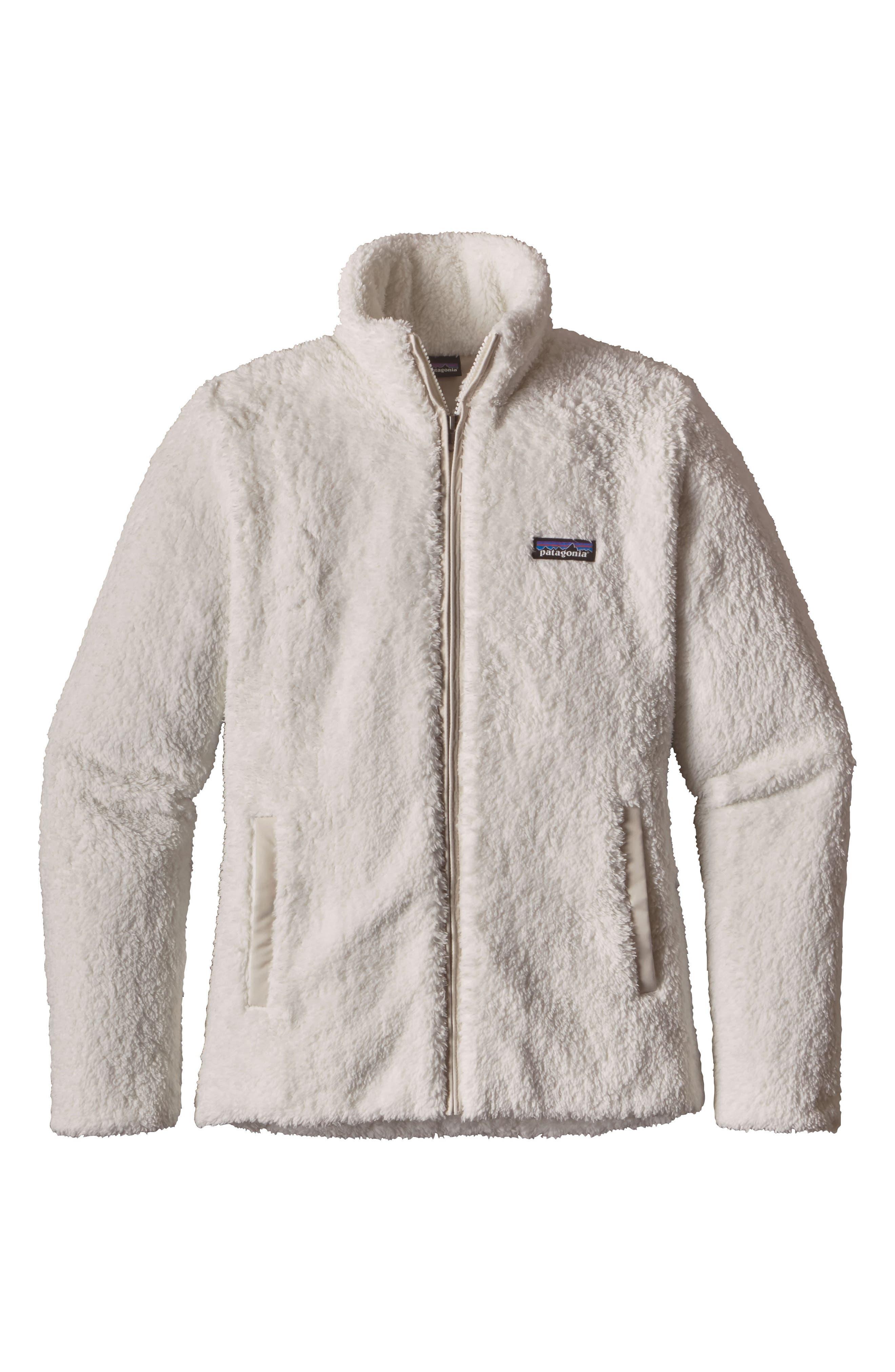 PATAGONIA, Los Gatos Fleece Jacket, Main thumbnail 1, color, BIRCH WHITE