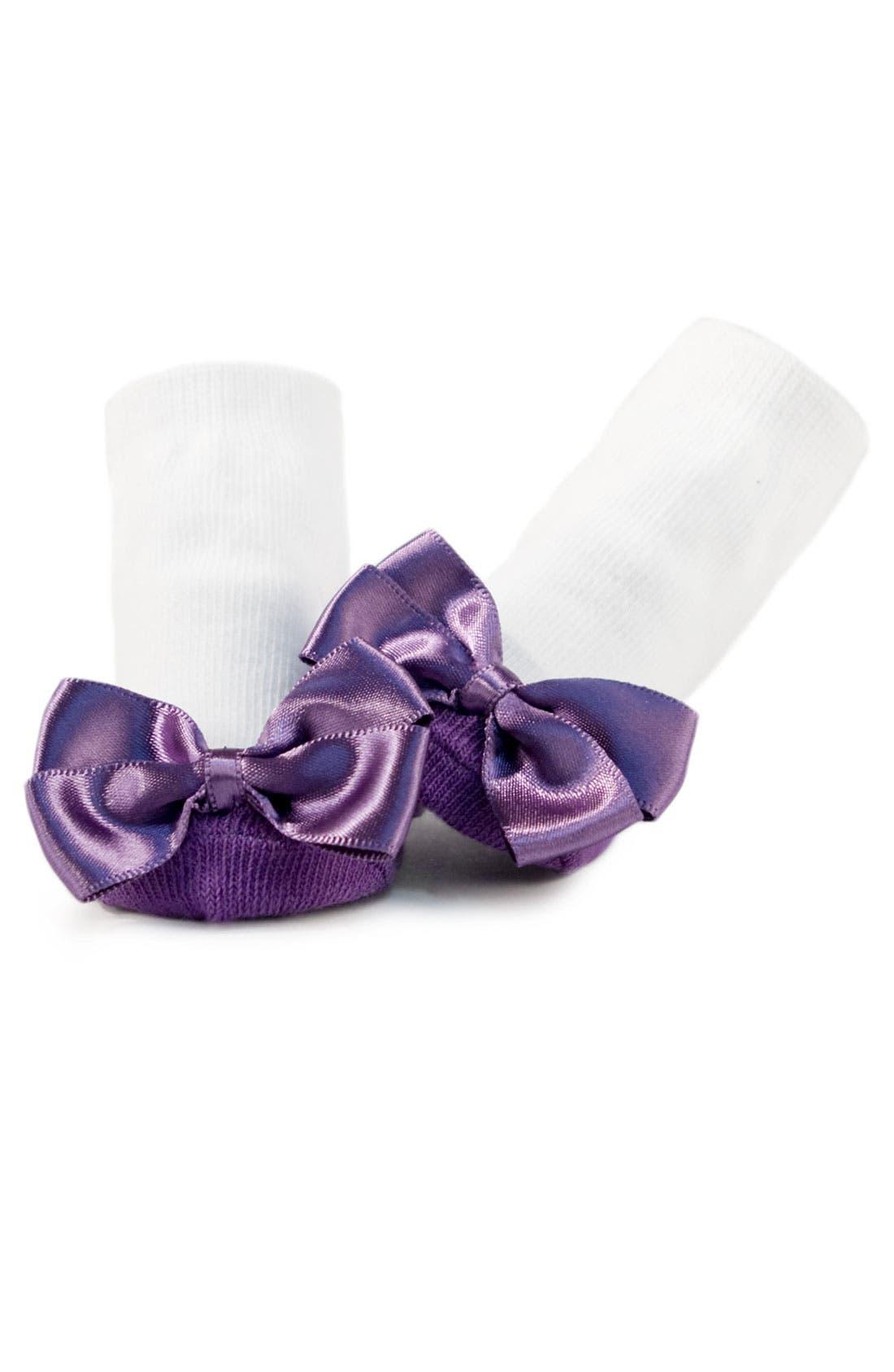 TRUMPETTE, 'Ballerina' Socks Gift Set, Alternate thumbnail 3, color, LUCY