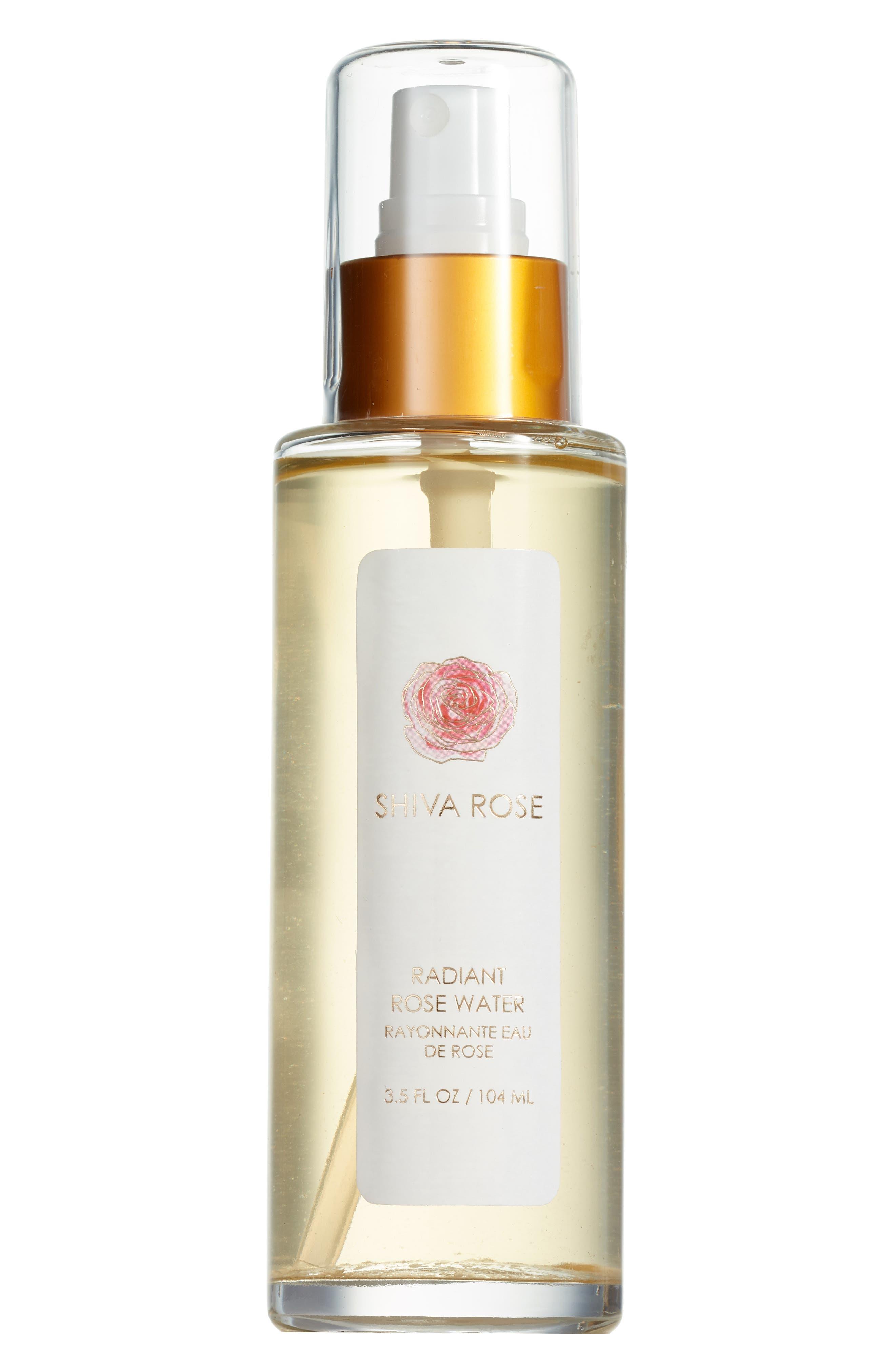 SHIVA ROSE, Radiant Rose Water, Main thumbnail 1, color, GOLD