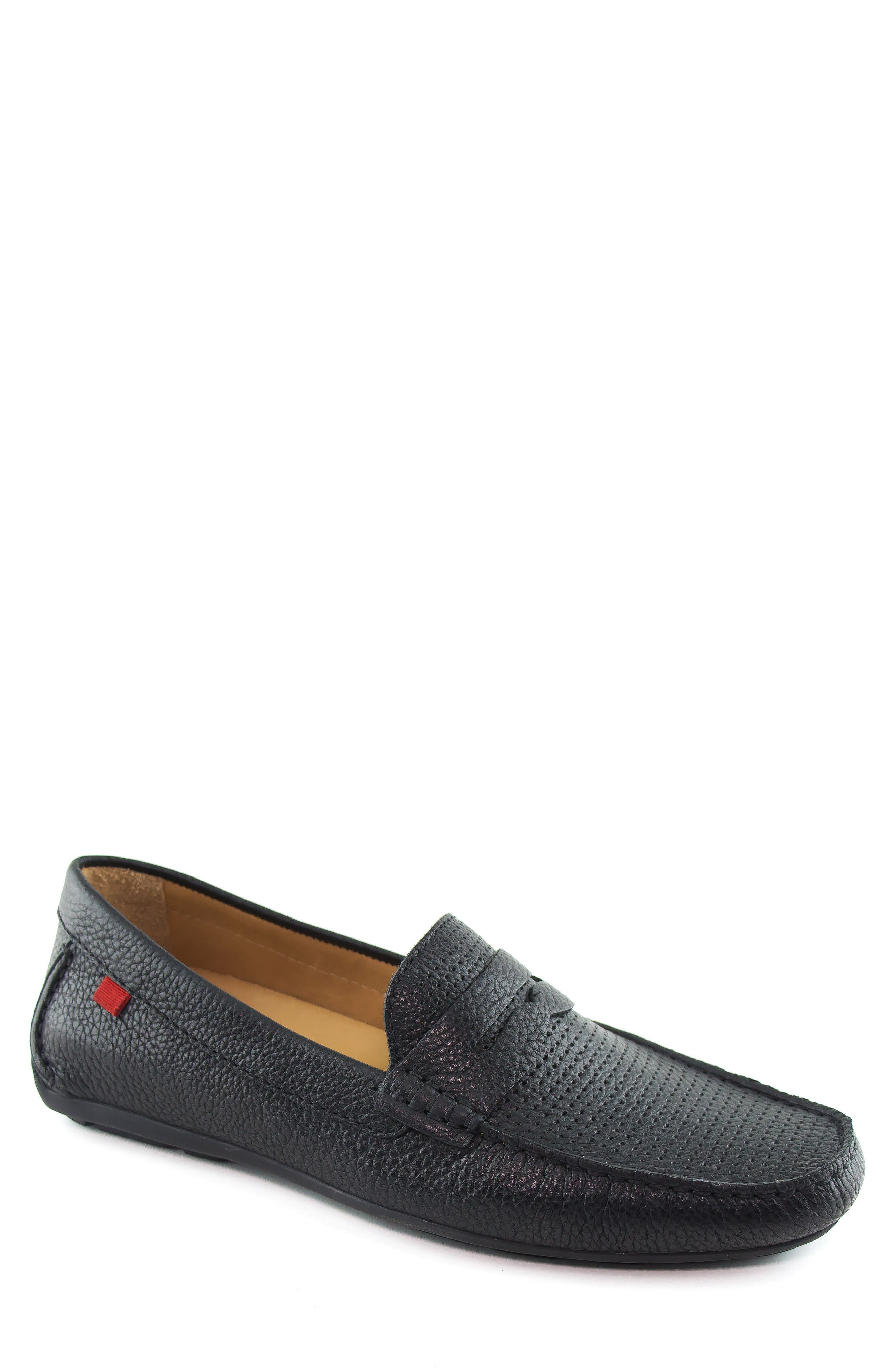 MARC JOSEPH NEW YORK Union Street Driving Shoe, Main, color, BLACK