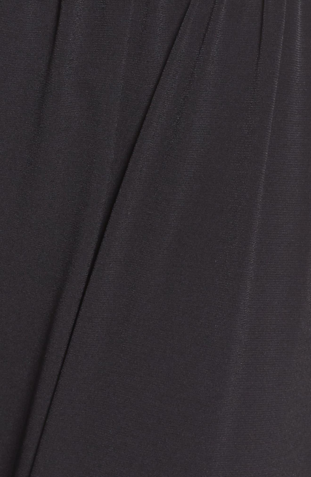 ONZIE, Harem Pants, Alternate thumbnail 6, color, BLACK