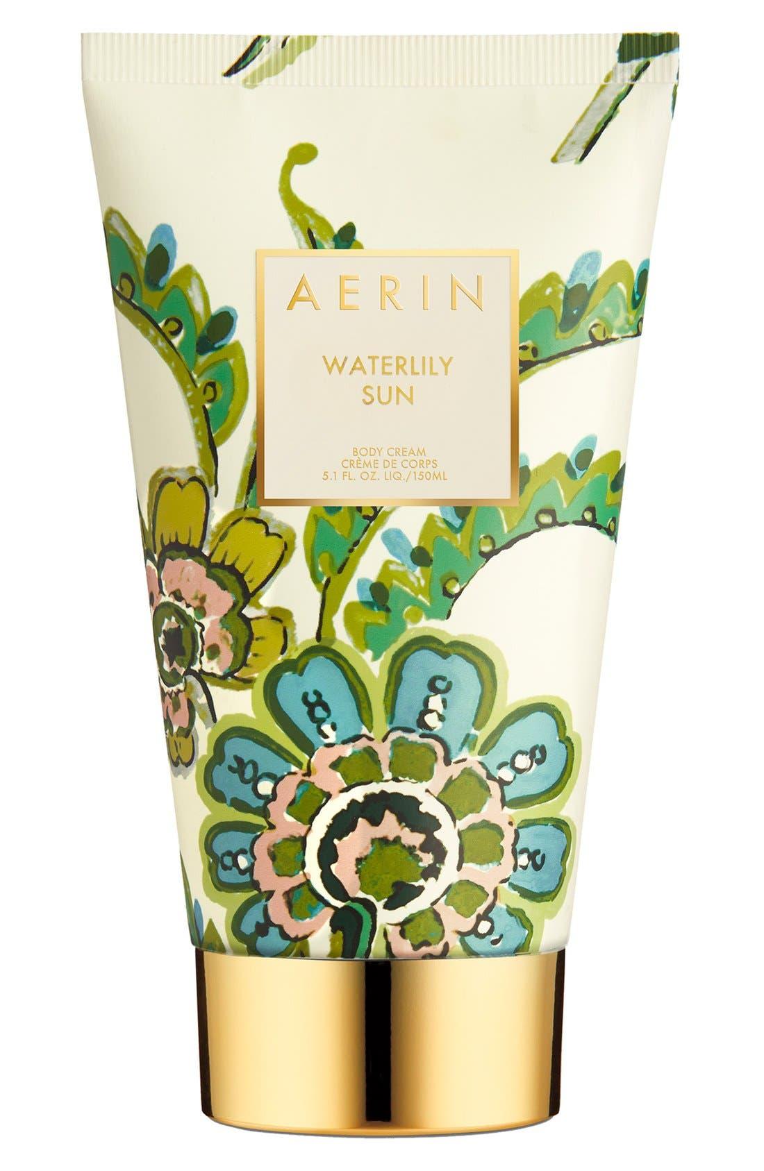 ESTÉE LAUDER, AERIN Beauty Waterlily Sun Body Cream, Main thumbnail 1, color, NO COLOR