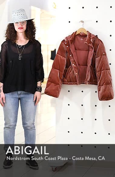 Velvet Puffer Jacket, sales video thumbnail