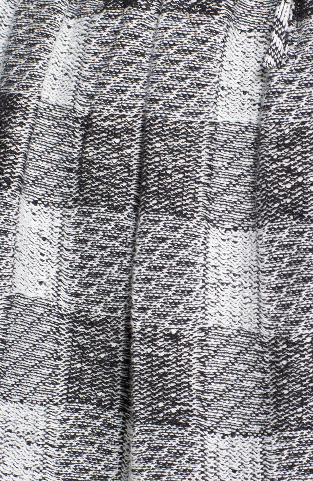 FREE PEOPLE, Plaid Flared Miniskirt, Alternate thumbnail 2, color, 001