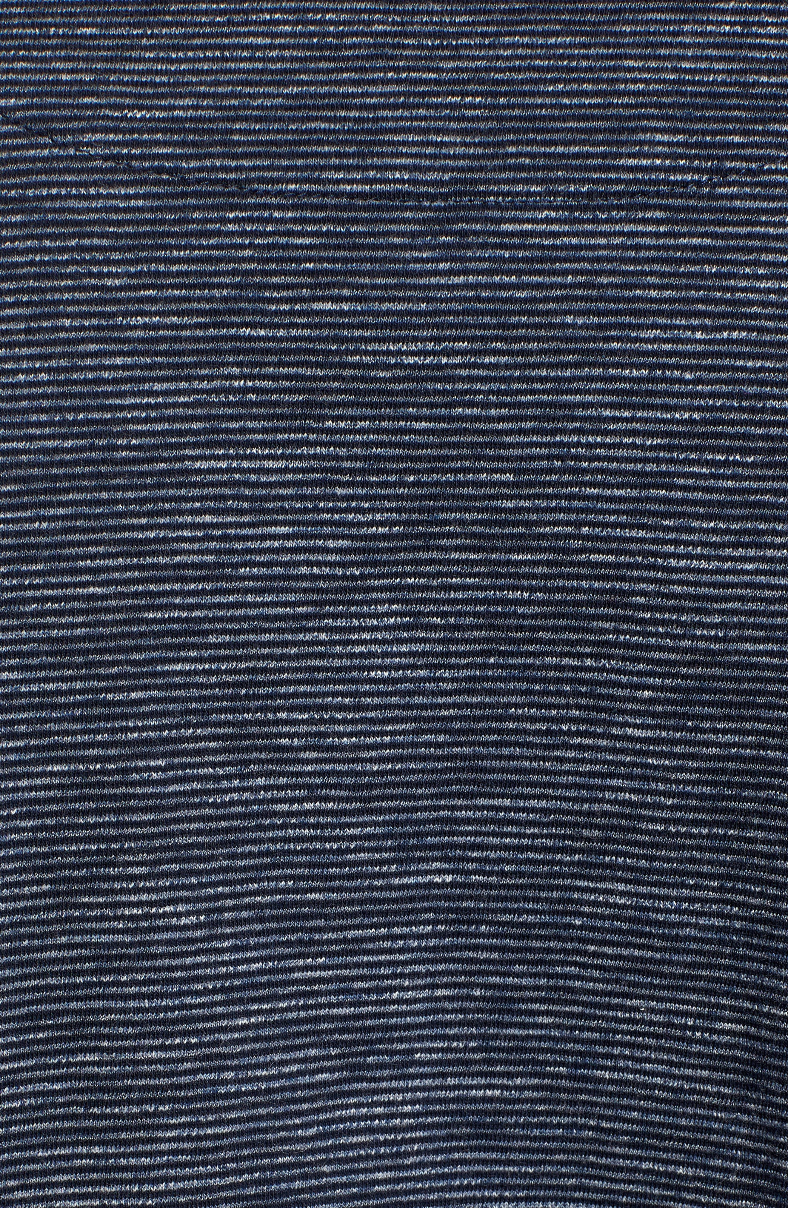 RODD & GUNN, Tasman Downs Regular Fit Henley, Alternate thumbnail 5, color, NAVY