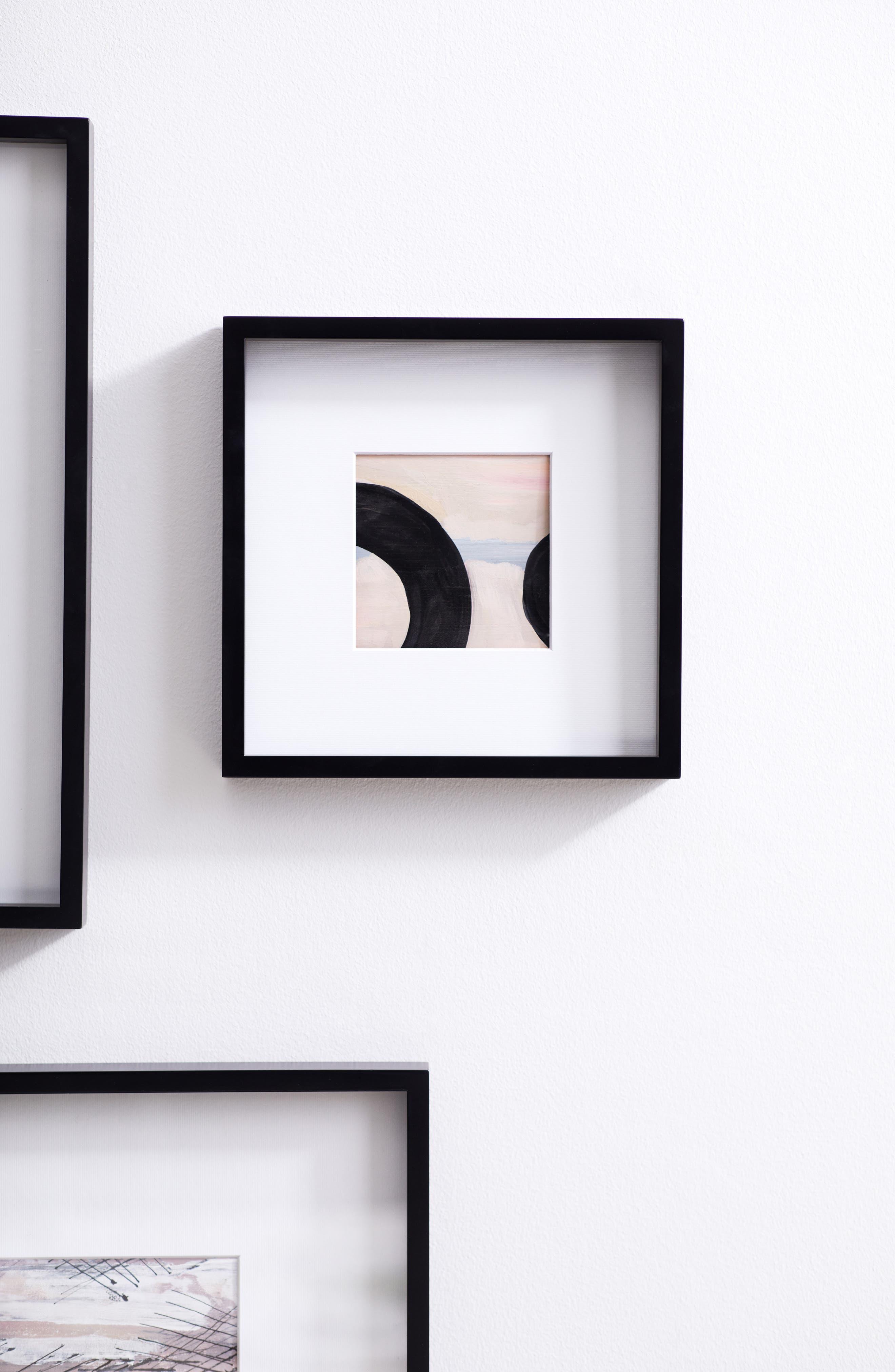 THE WHITE COMPANY Fine Wooden Frame, Main, color, BLACK- 8 X 8