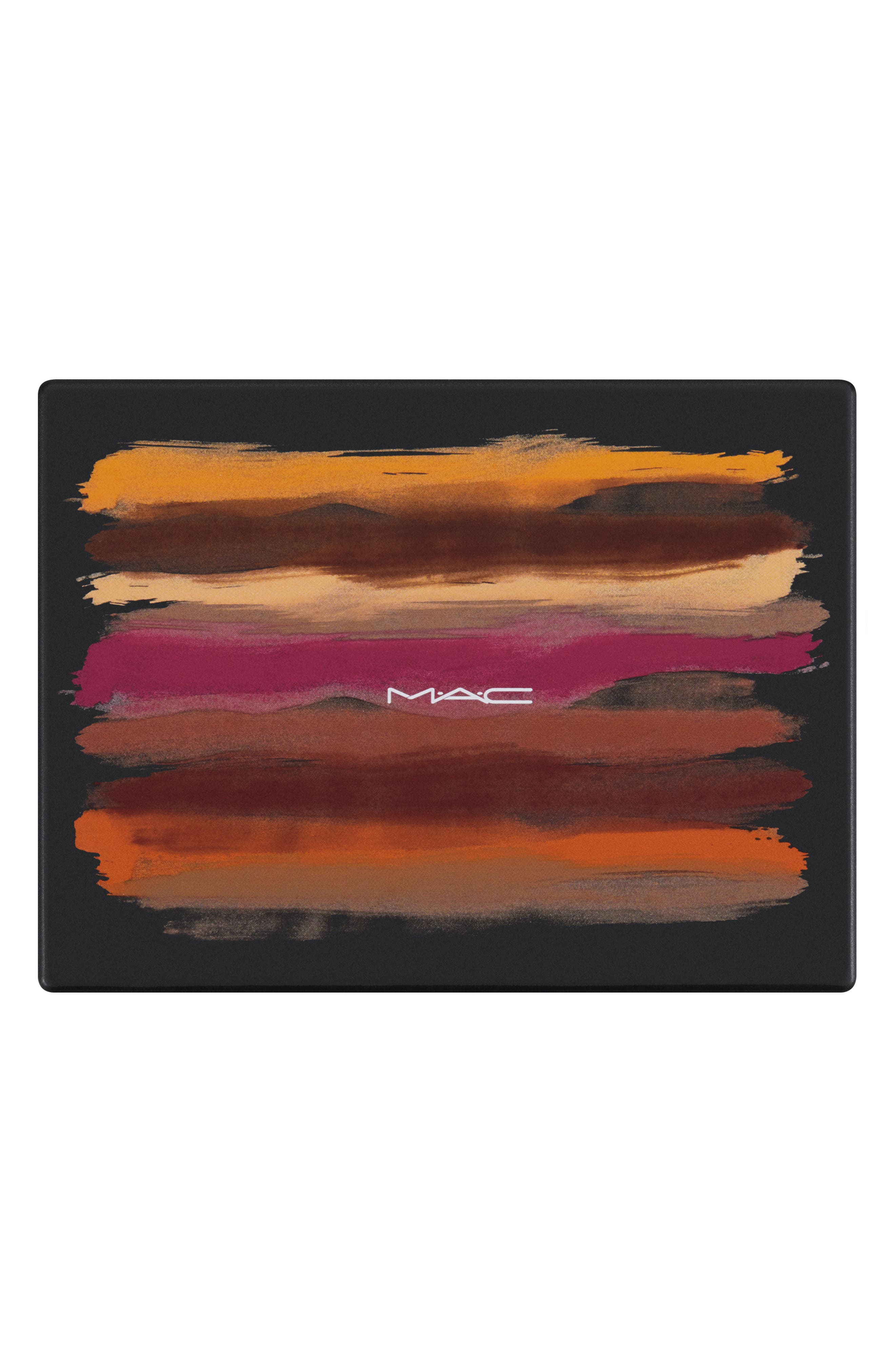 MAC COSMETICS, MAC Art Library Eyeshadow Palette, Alternate thumbnail 6, color, FLAME-BOYANT
