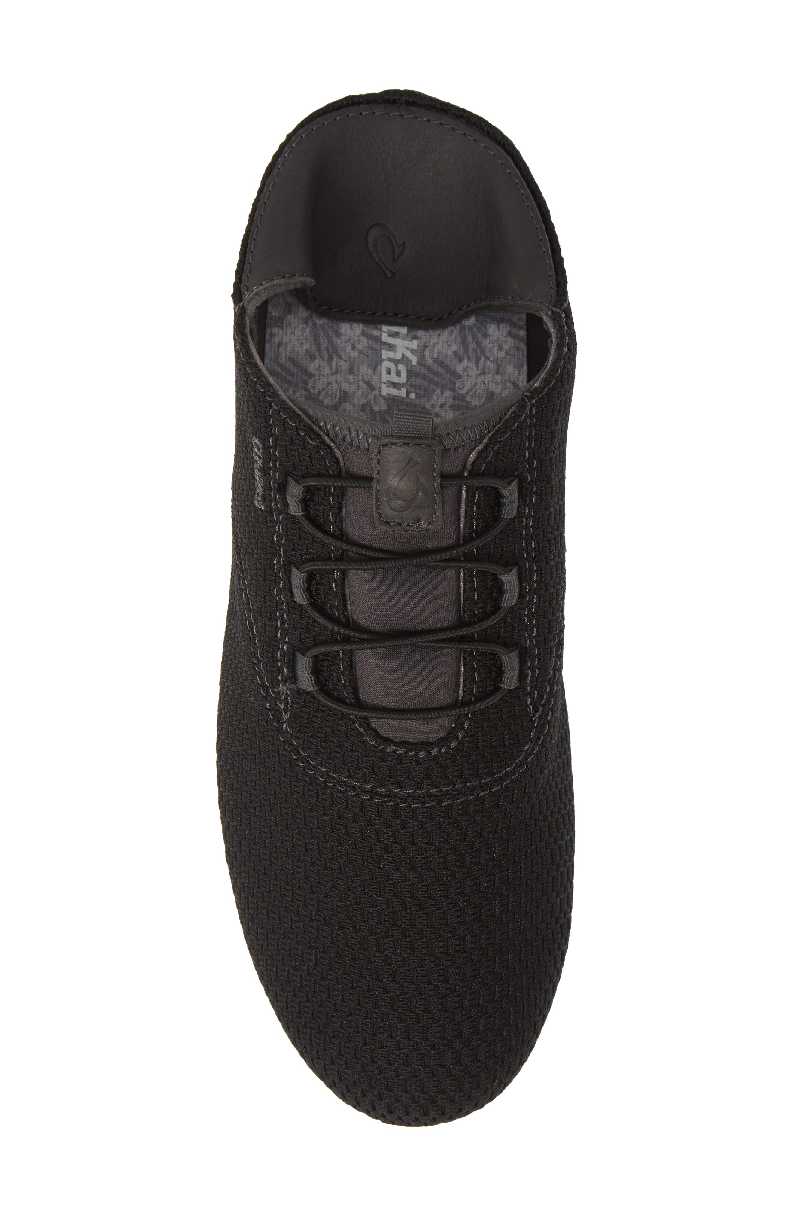 OLUKAI, Alapa Li Sneaker, Alternate thumbnail 6, color, BLACK/ DARK SHADOW MESH