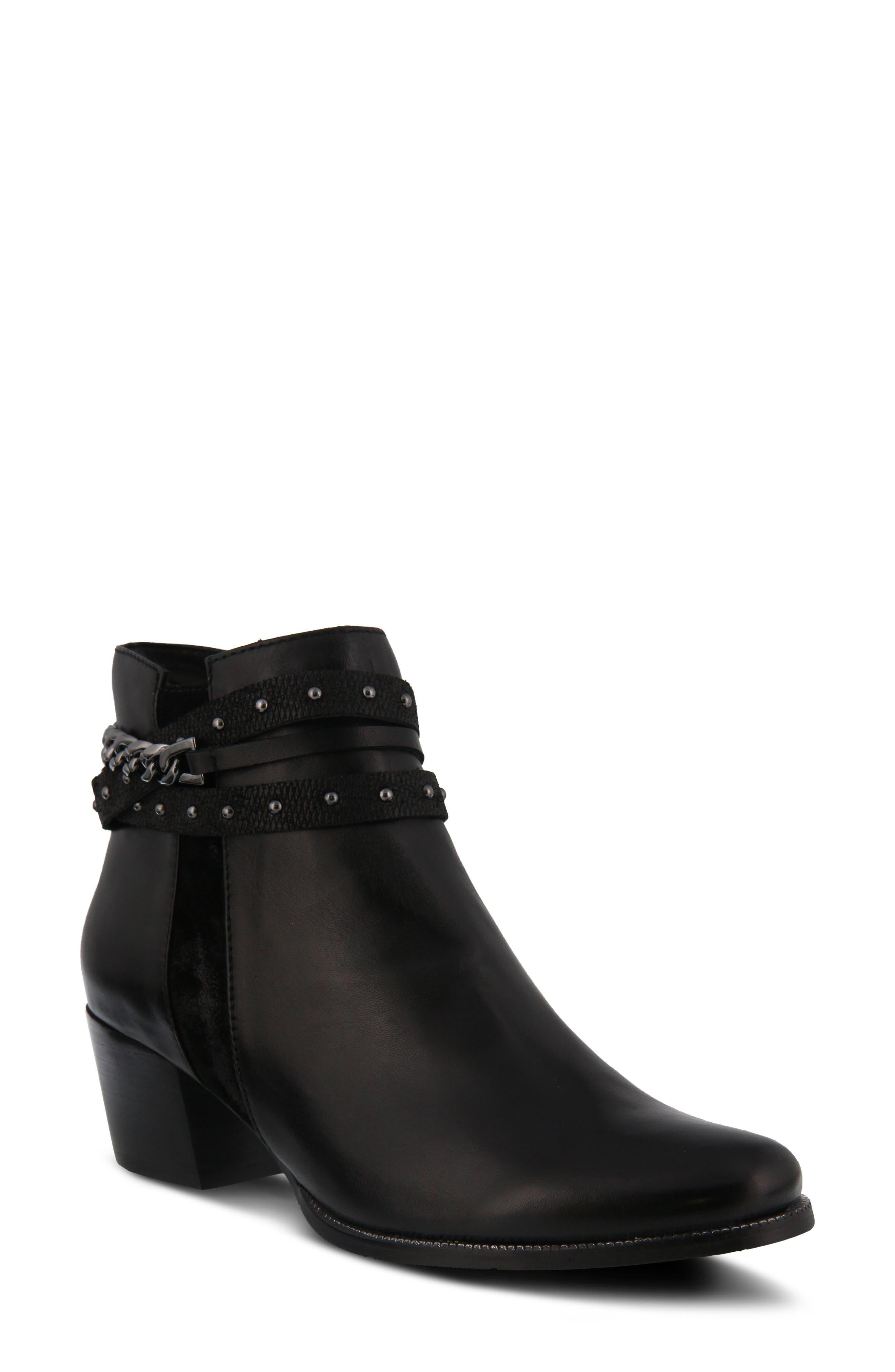 Spring Step Persela Bootie - Black