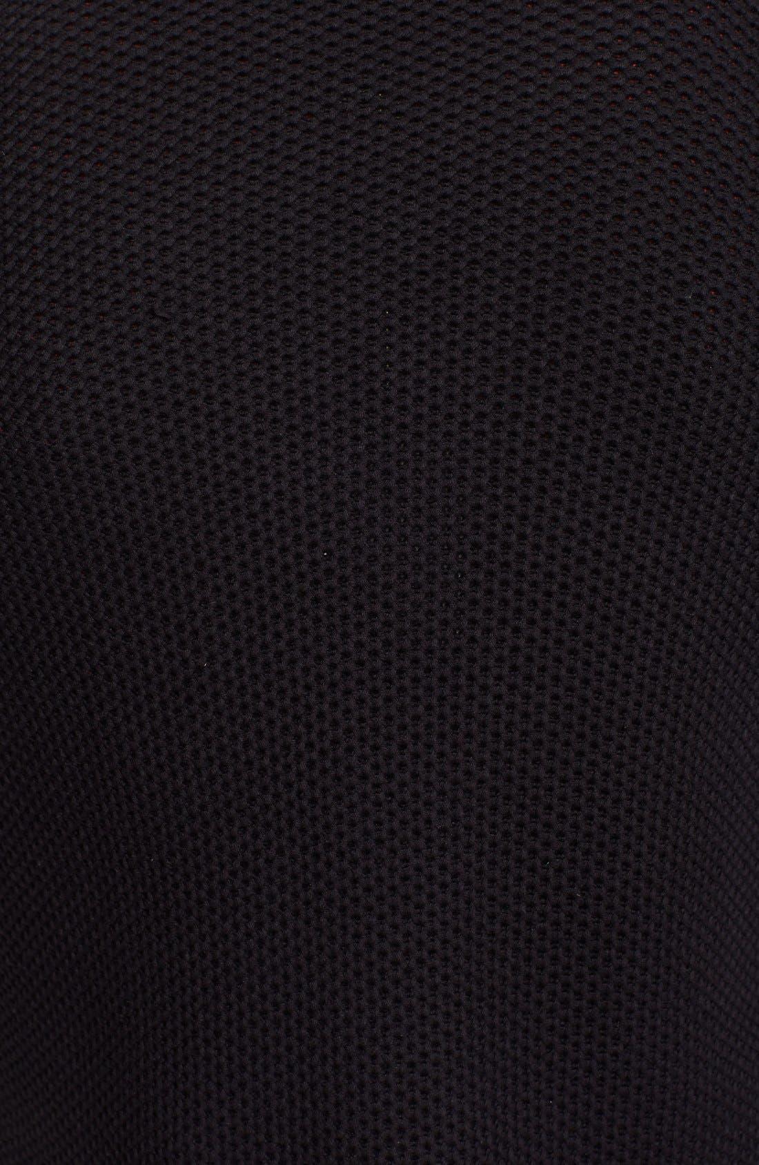 RAG & BONE, Standard Issue 'Avery' Shawl Collar Cardigan, Alternate thumbnail 3, color, 001