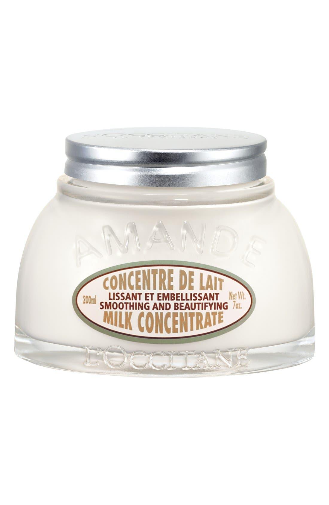L'OCCITANE, Almond Milk Concentrate, Main thumbnail 1, color, NO COLOR