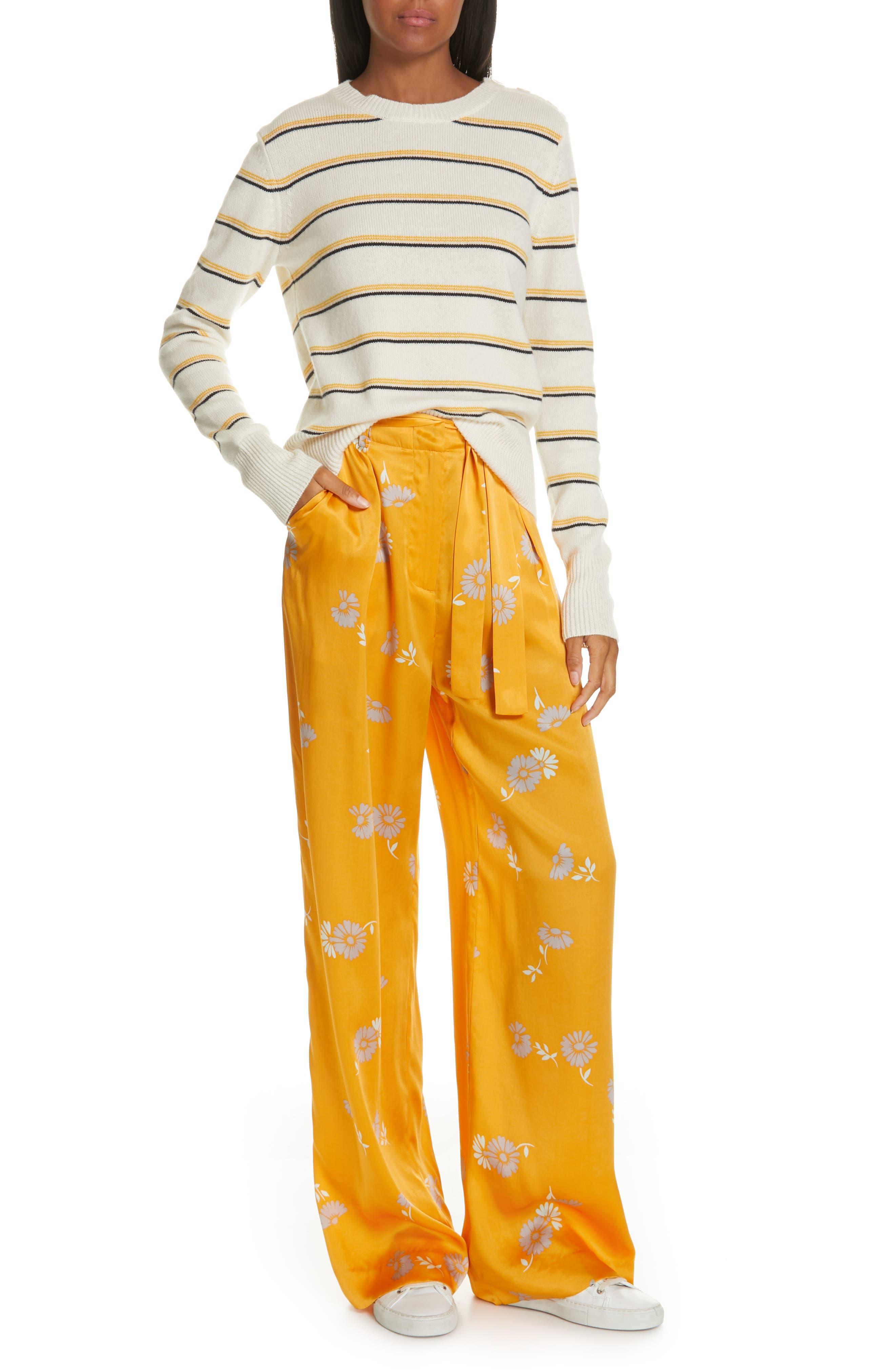 EQUIPMENT, Duru Wool & Cashmere Sweater, Alternate thumbnail 7, color, 110