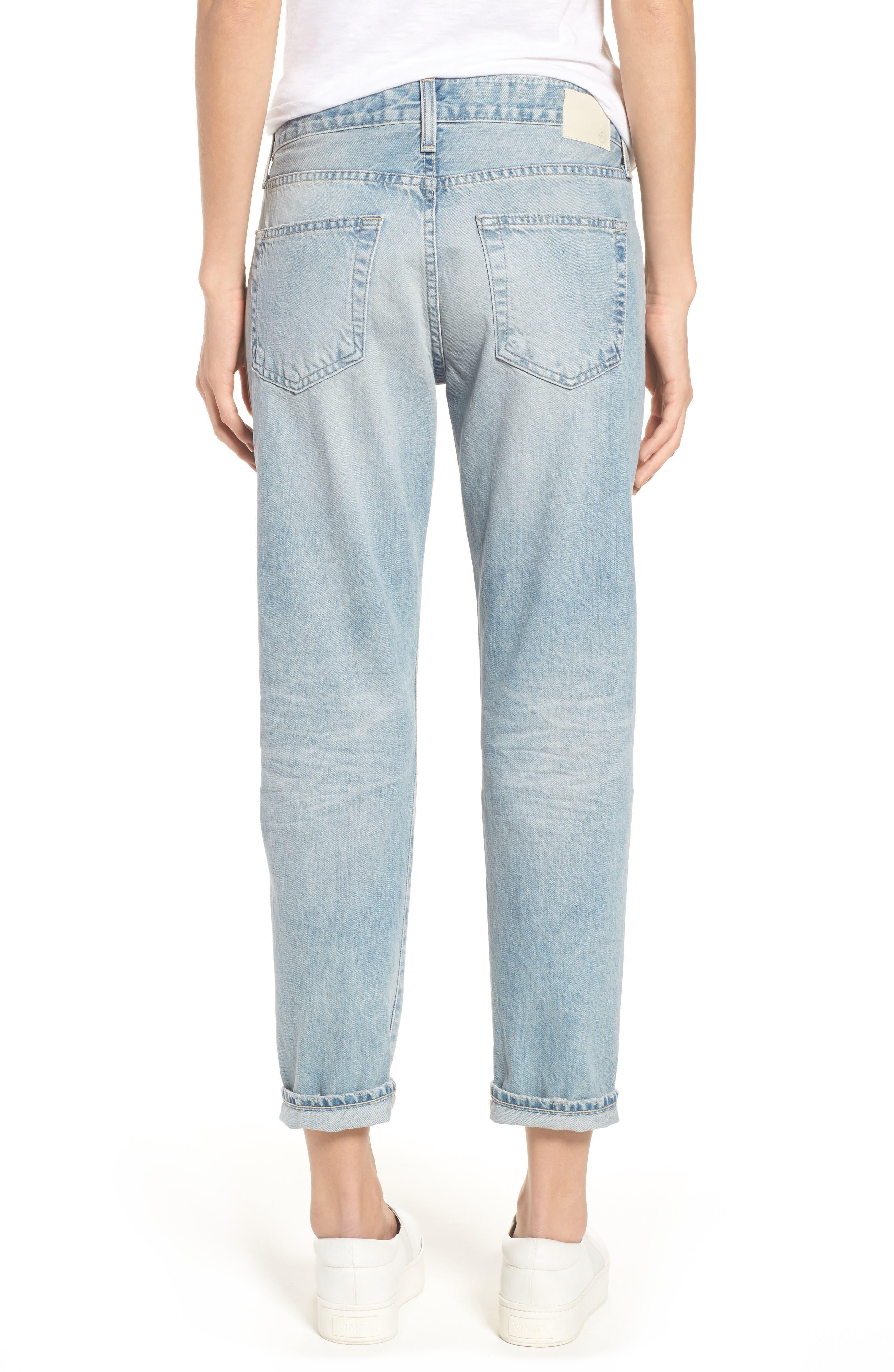 AG, 'The Ex Boyfriend' Slim Jeans, Alternate thumbnail 2, color, 469