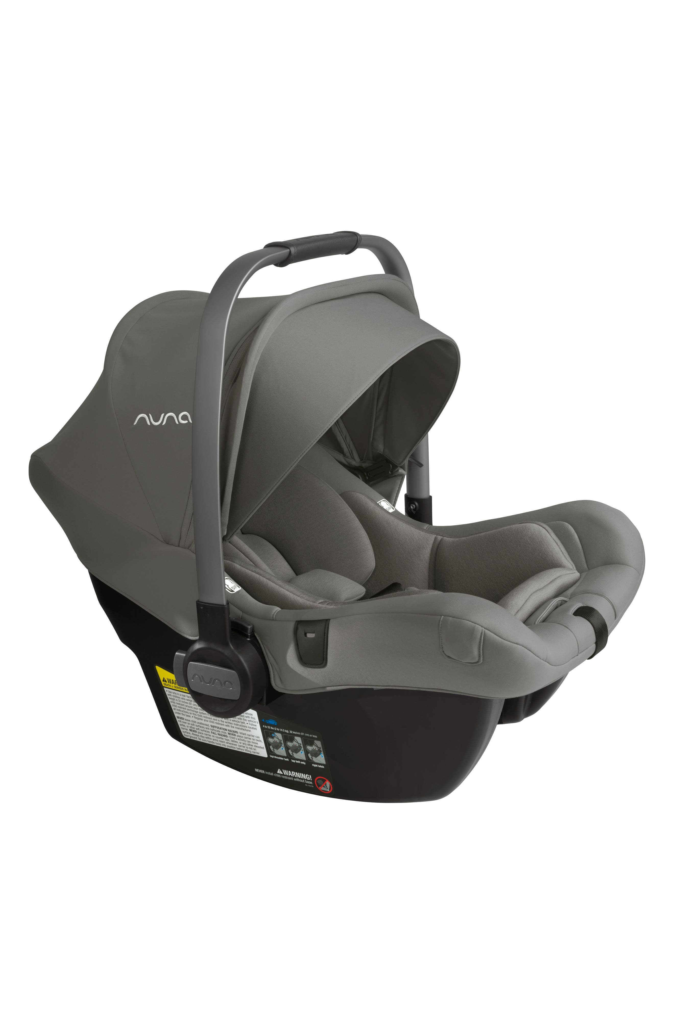 NUNA, PIPA<sup>™</sup> Lite LX Infant Car Seat & Base, Alternate thumbnail 2, color, FROST