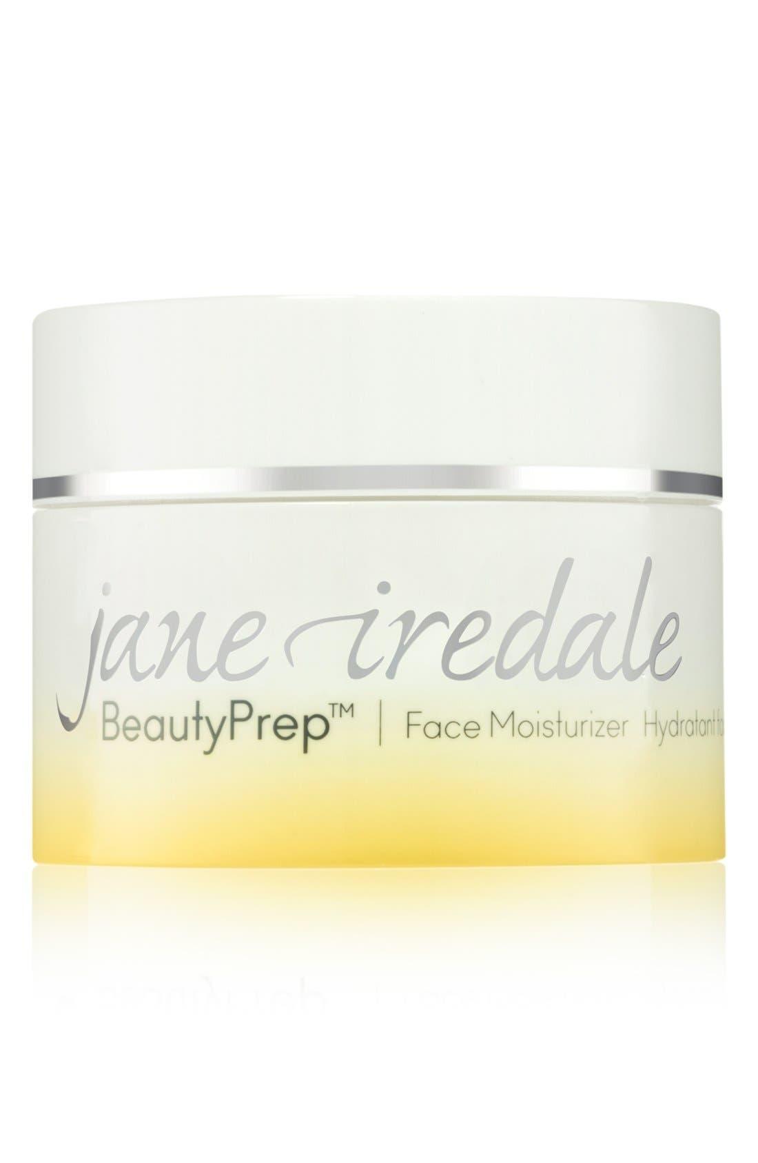 JANE IREDALE BeautyPrep Face Moisturizer, Main, color, NO COLOR