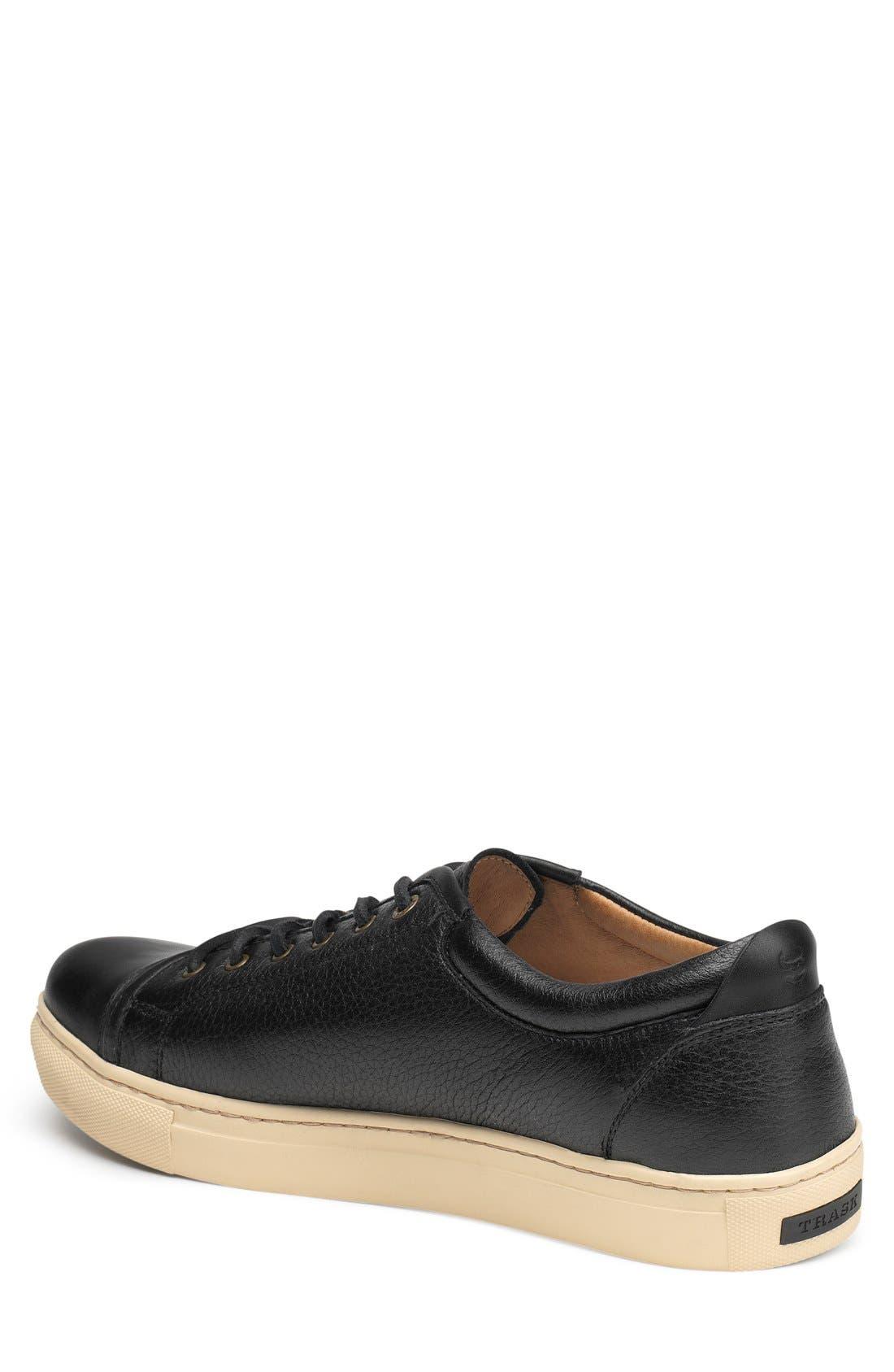 TRASK, 'Beck' Sneaker, Alternate thumbnail 2, color, BLACK NORWEGIAN ELK