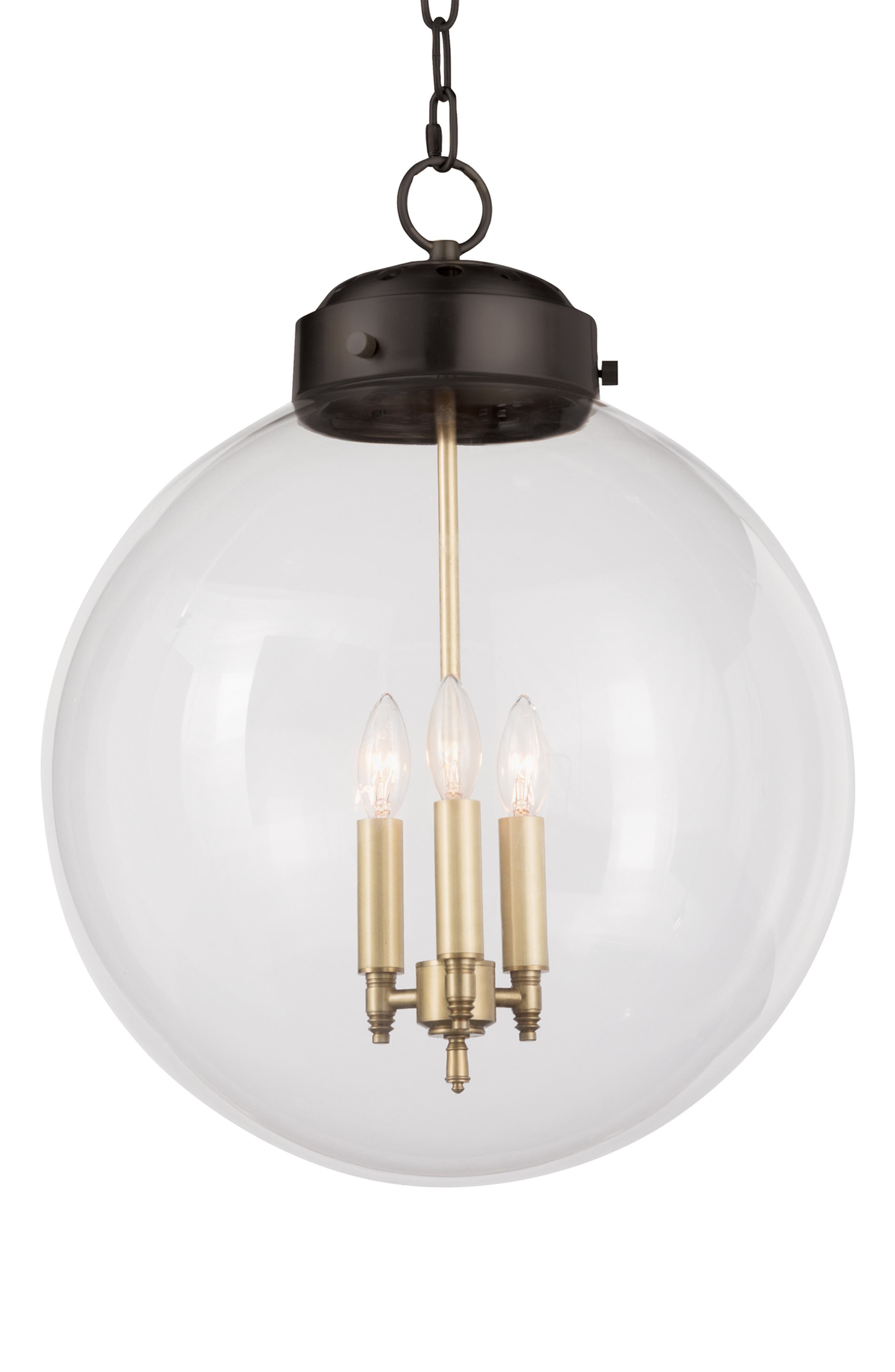 Regina Andrew Design Globe Pendant Lamp Size One Size  Black