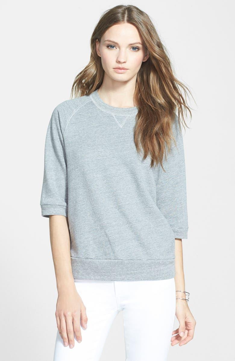 87d04789f TRUE RELIGION BRAND JEANS Joan Smalls for True Religion Brand Jeans French  Terry Raglan Sweatshirt,