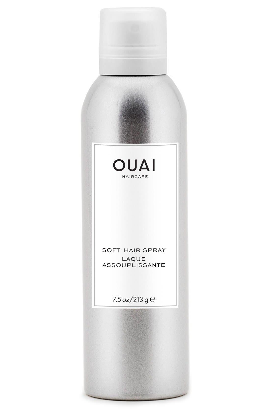 OUAI, Soft Hair Spray, Main thumbnail 1, color, 000