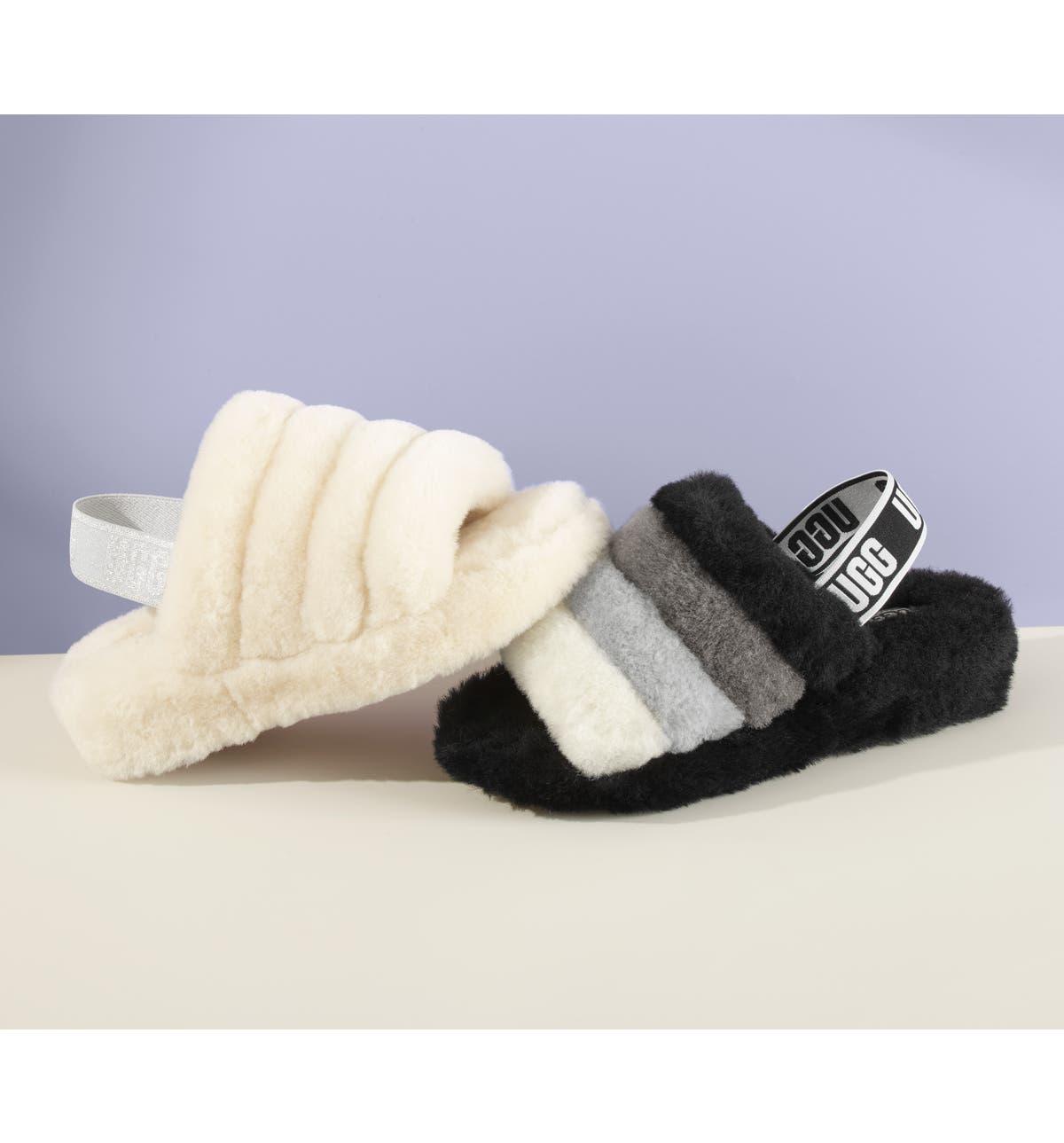 883a681e523 UGG® Fluff Yeah Genuine Shearling Slipper (Women)
