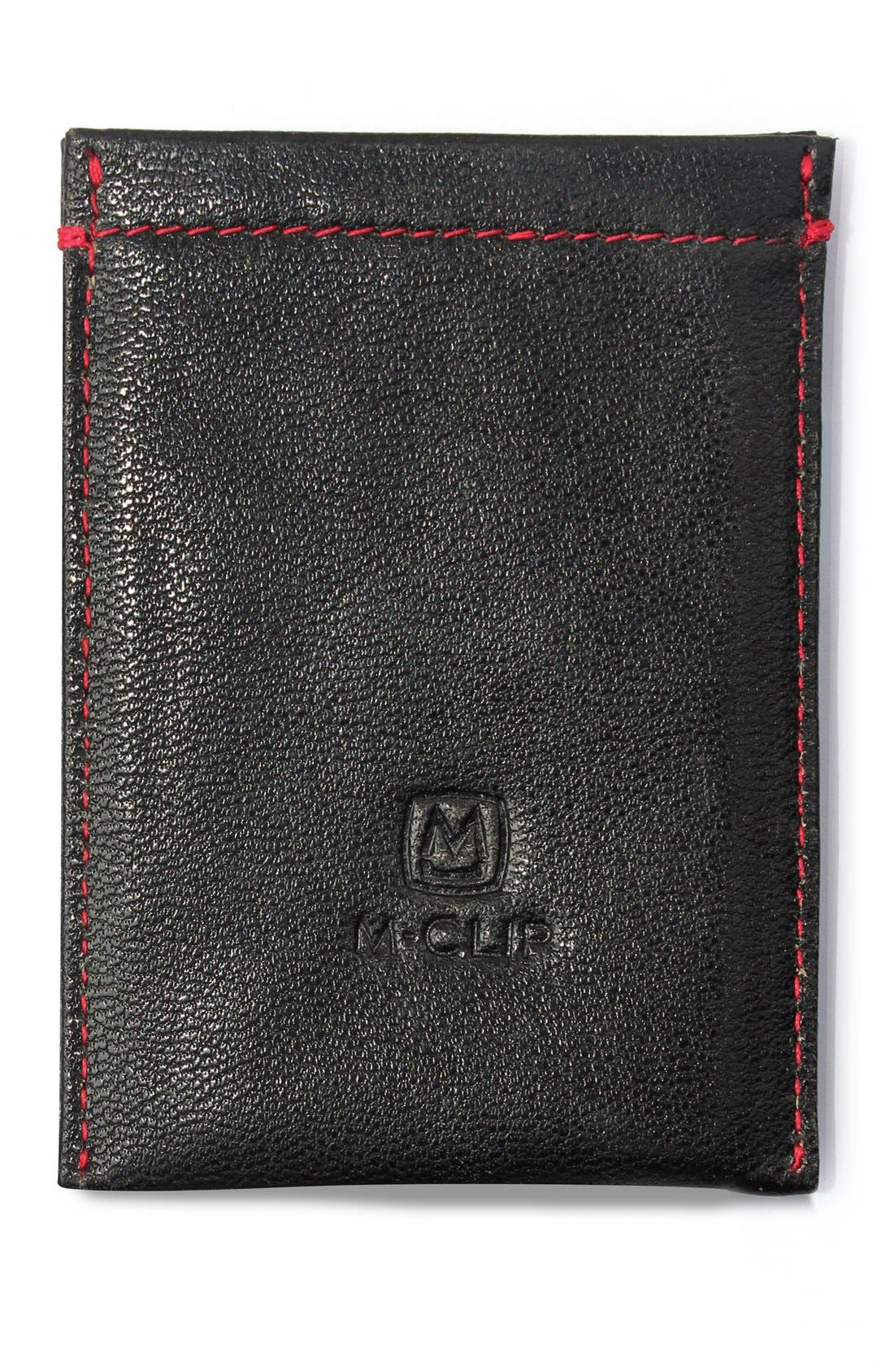 M-CLIP<SUP>®</SUP> RFID Card Case, Main, color, BLACK