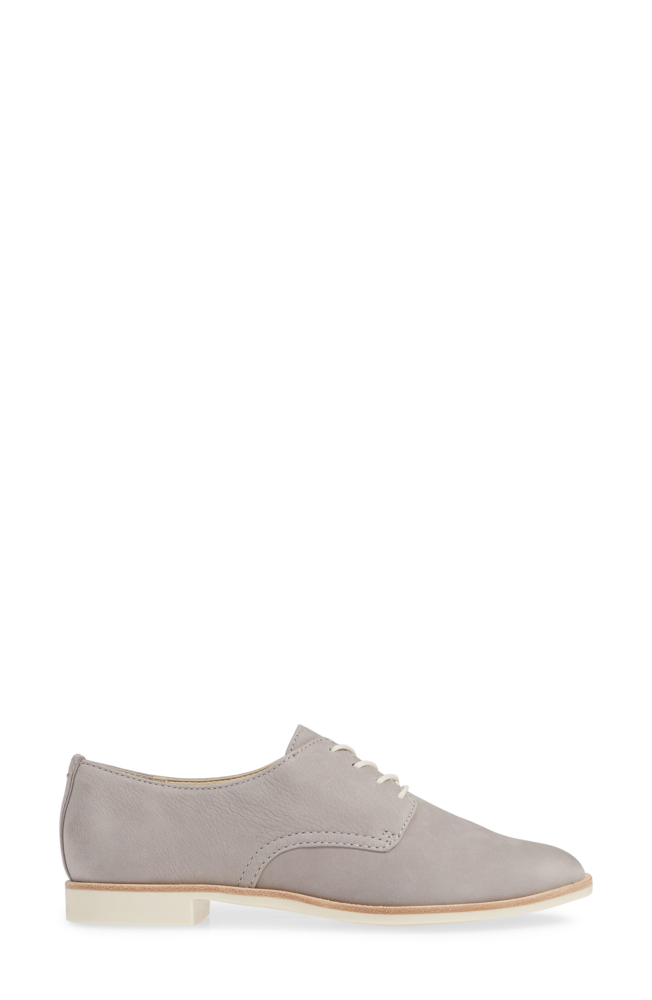 DOLCE VITA, Kyle Derby, Alternate thumbnail 3, color, GREY LEATHER