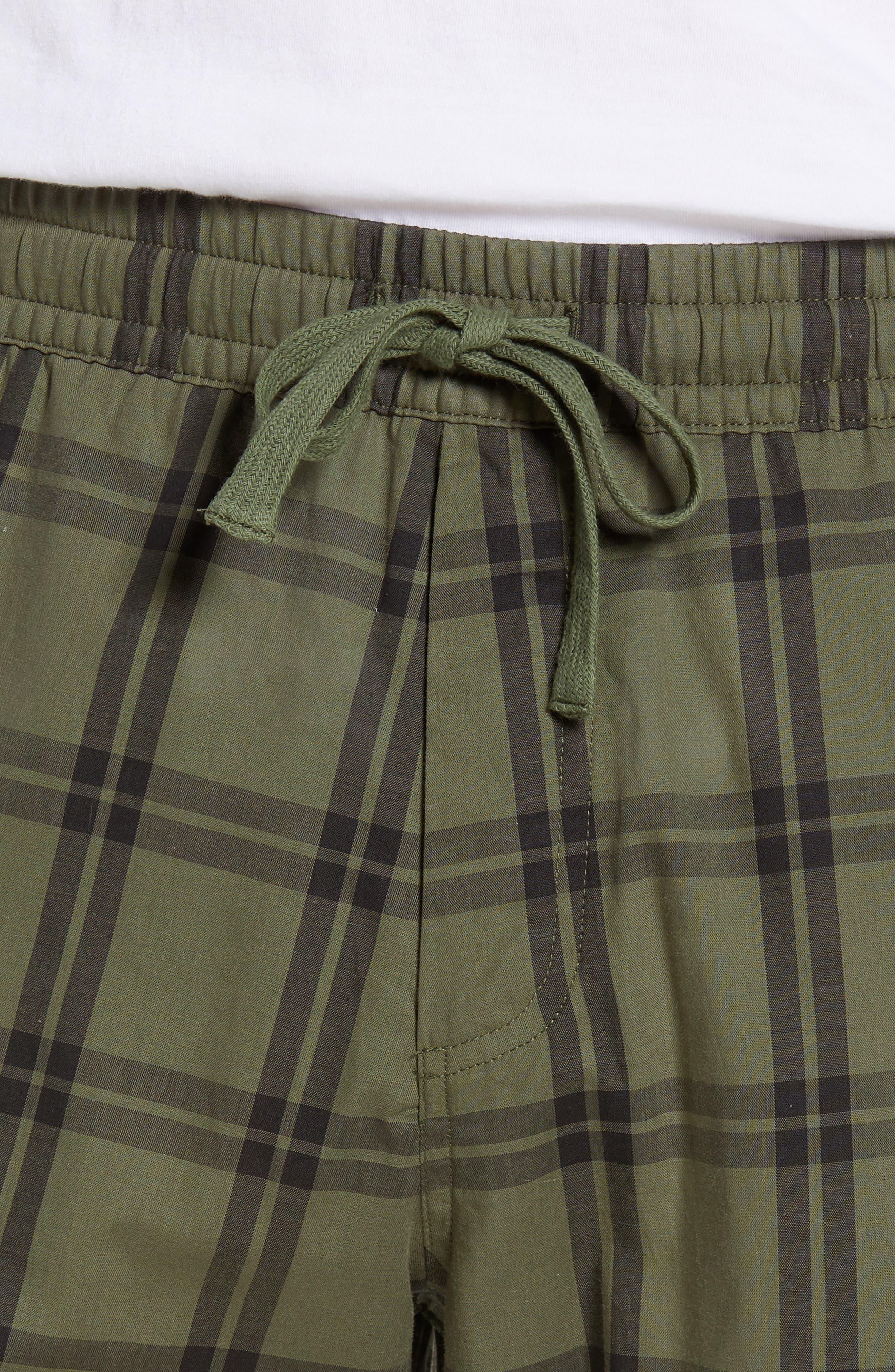 UGG<SUP>®</SUP>, Flynn Pajama Pants, Alternate thumbnail 4, color, CACTUS