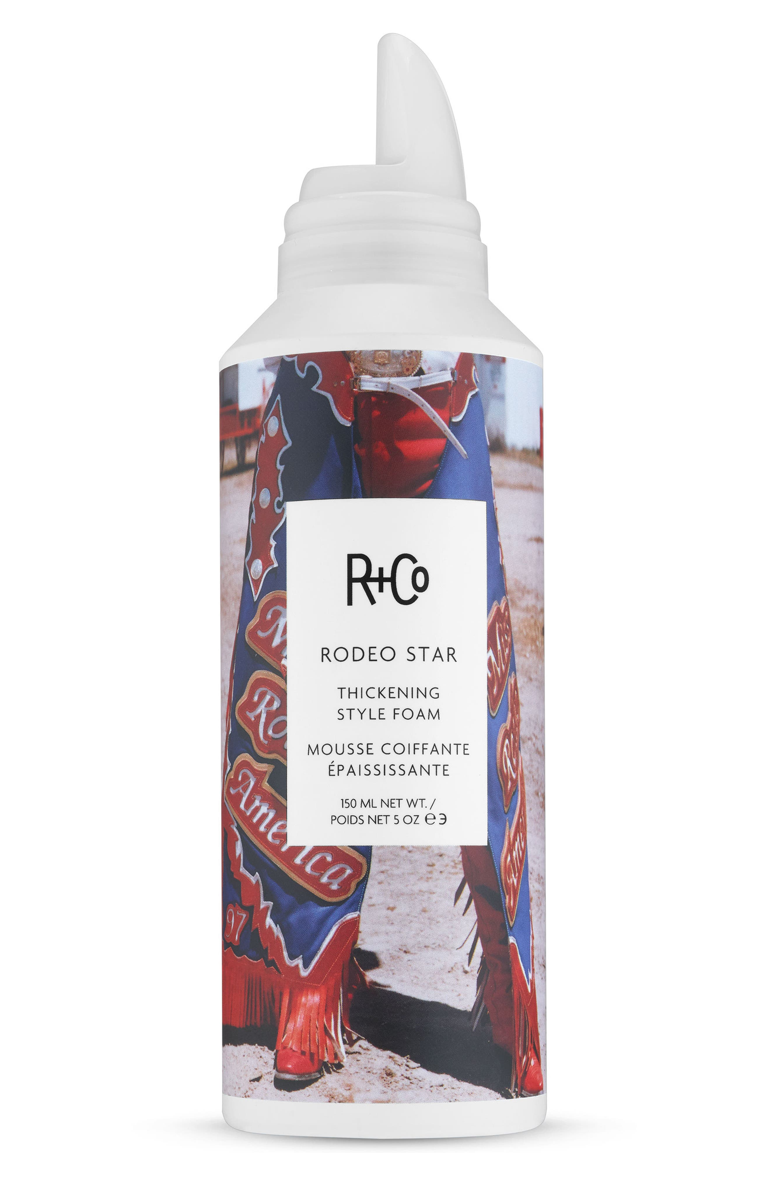 R+CO, SPACE.NK.apothecary R+Co Rodeo Star Thickening Style Foam, Main thumbnail 1, color, NO COLOR
