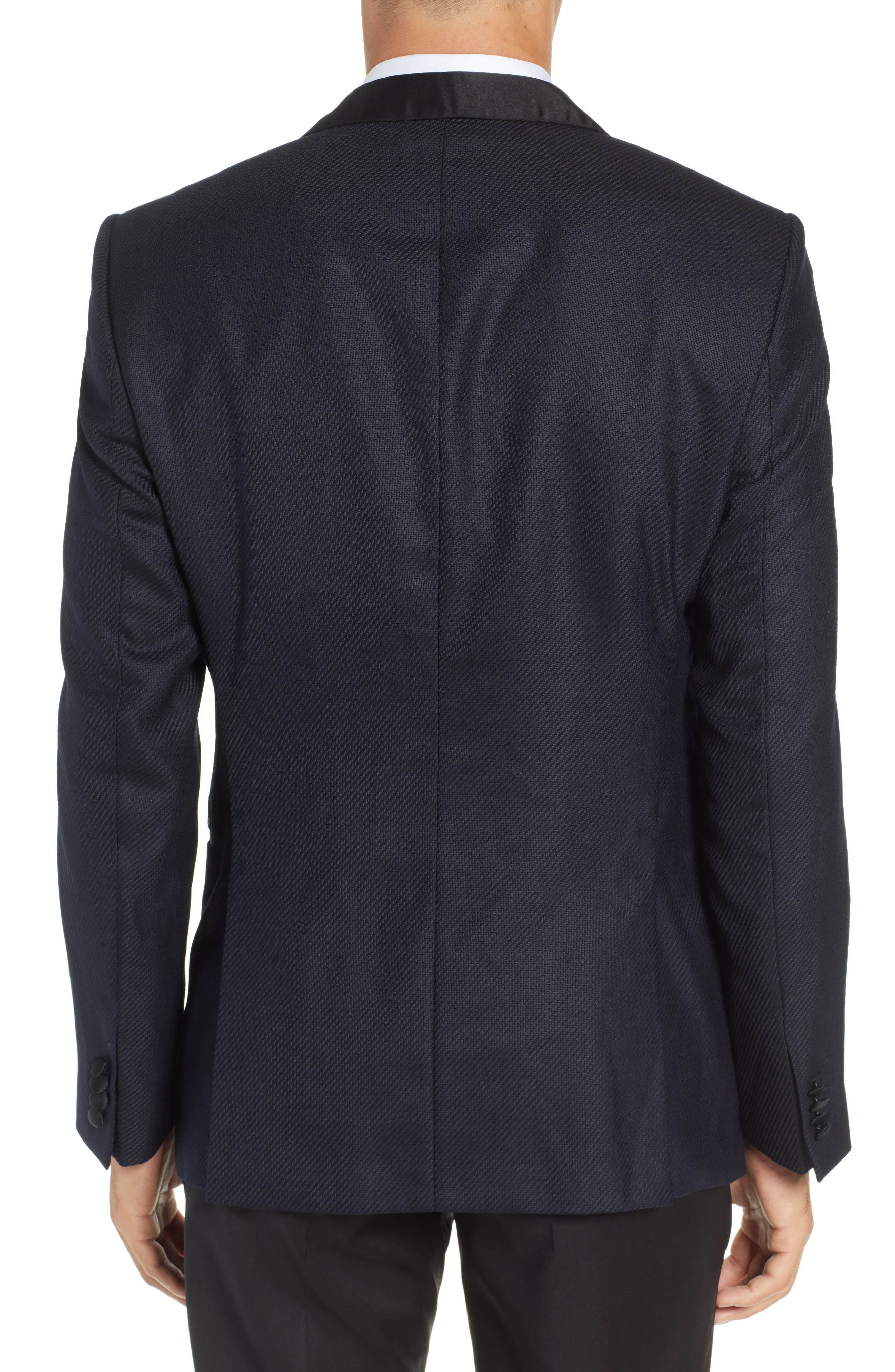 BOSS, Hockley Slim Fit Wool Dinner Jacket, Alternate thumbnail 2, color, 480